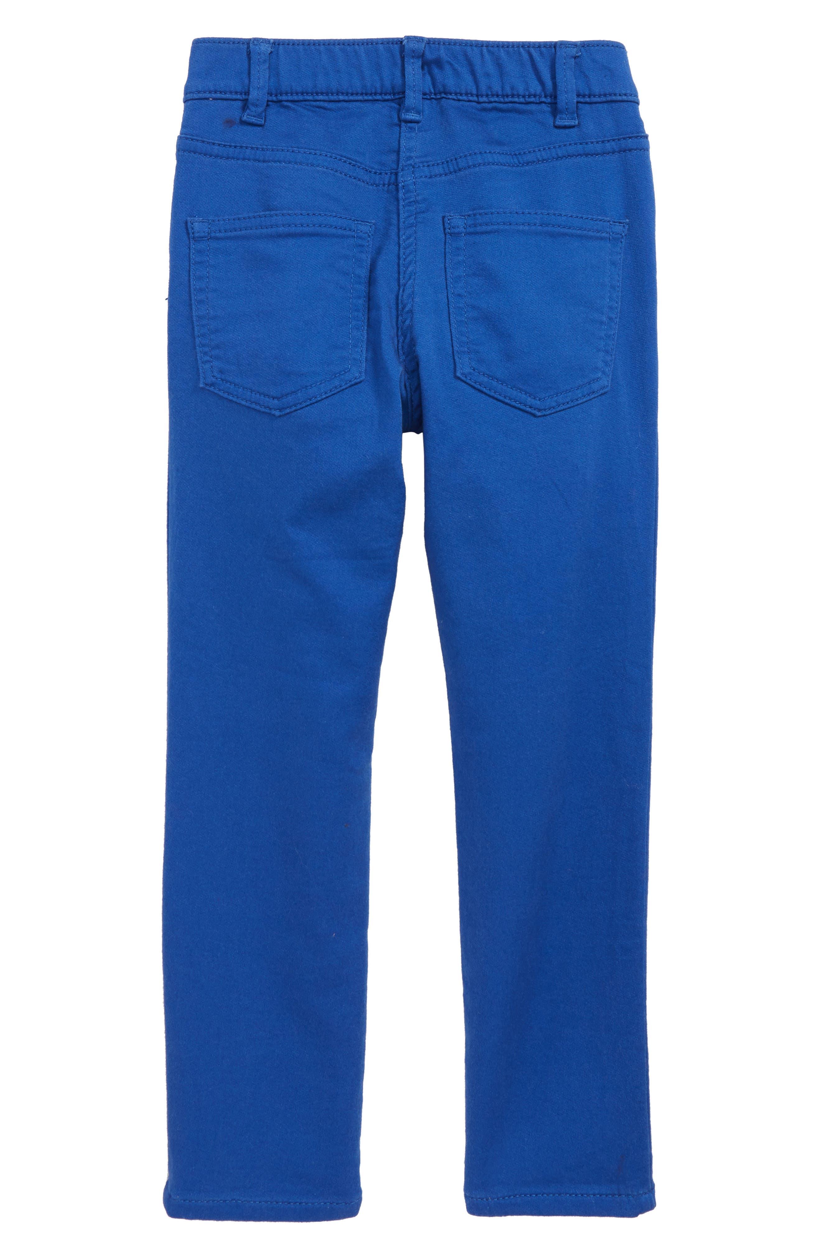 Runaround Garment Dye Jeans,                             Alternate thumbnail 2, color,                             LAGOON BLUE