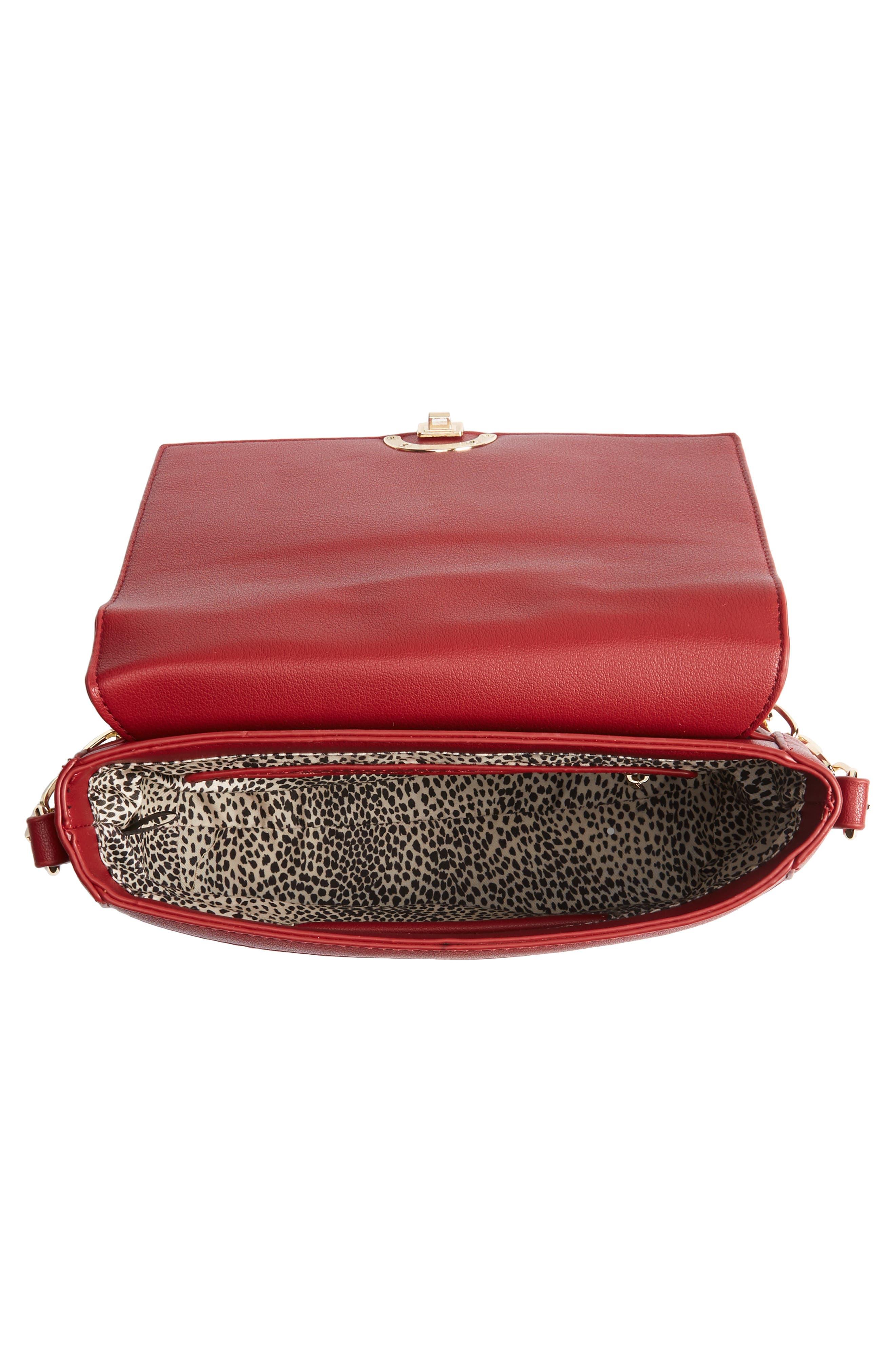 Colie Faux Leather Crossbody Bag,                             Alternate thumbnail 12, color,