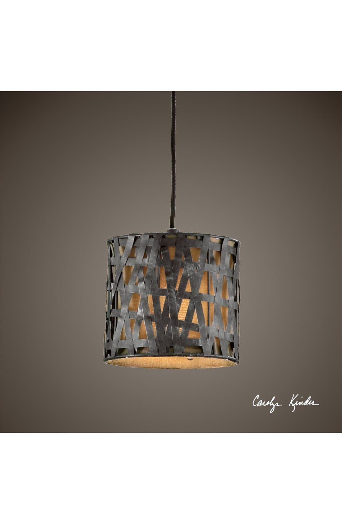 'Alita - Mini' Drum Pendant Light,                             Alternate thumbnail 2, color,                             001