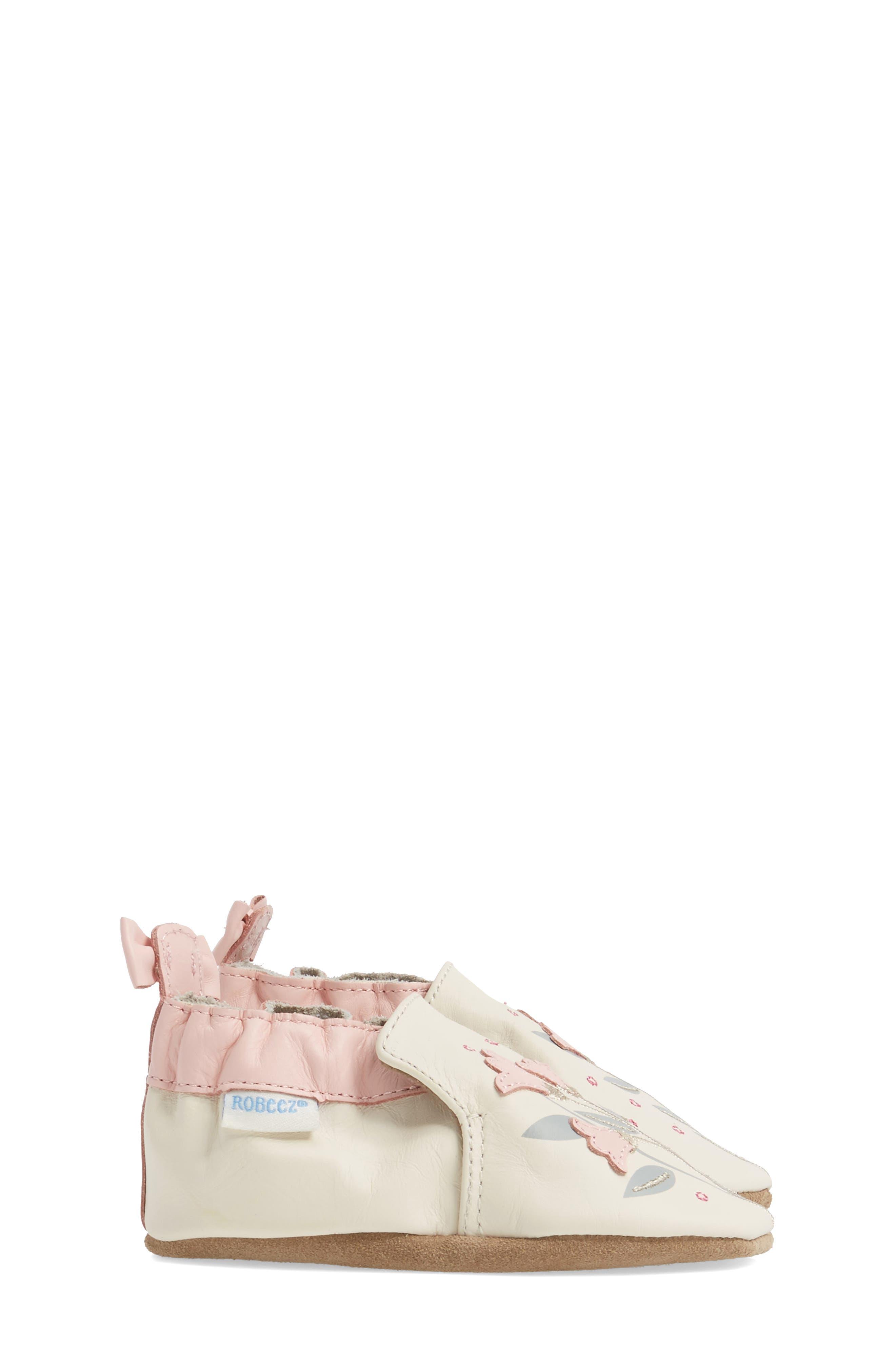 Rosealean Crib Shoe,                             Alternate thumbnail 3, color,                             650