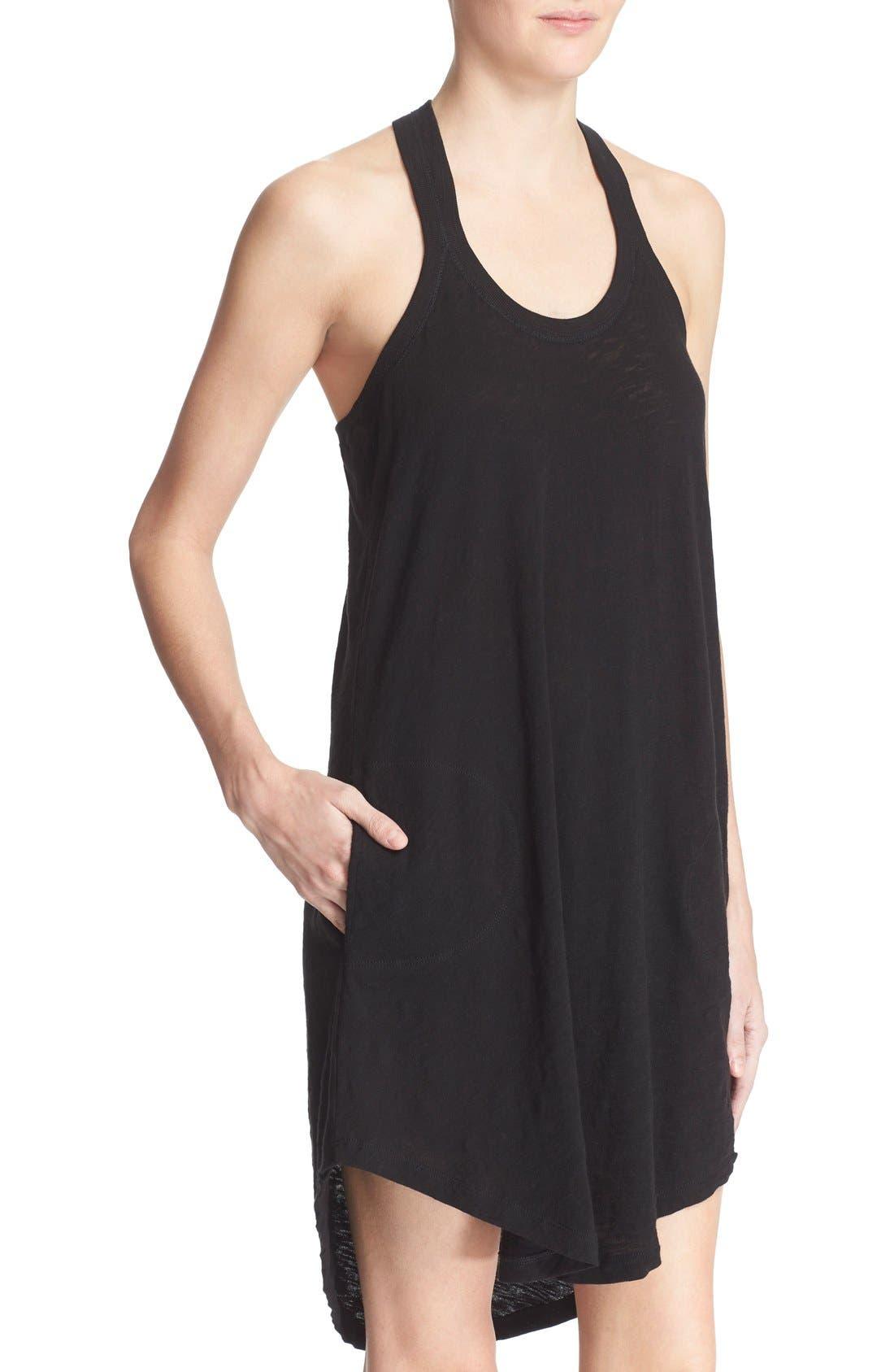 ATM ANTHONY THOMAS MELILLO,                             Cotton Trapeze Tank Dress,                             Alternate thumbnail 8, color,                             001