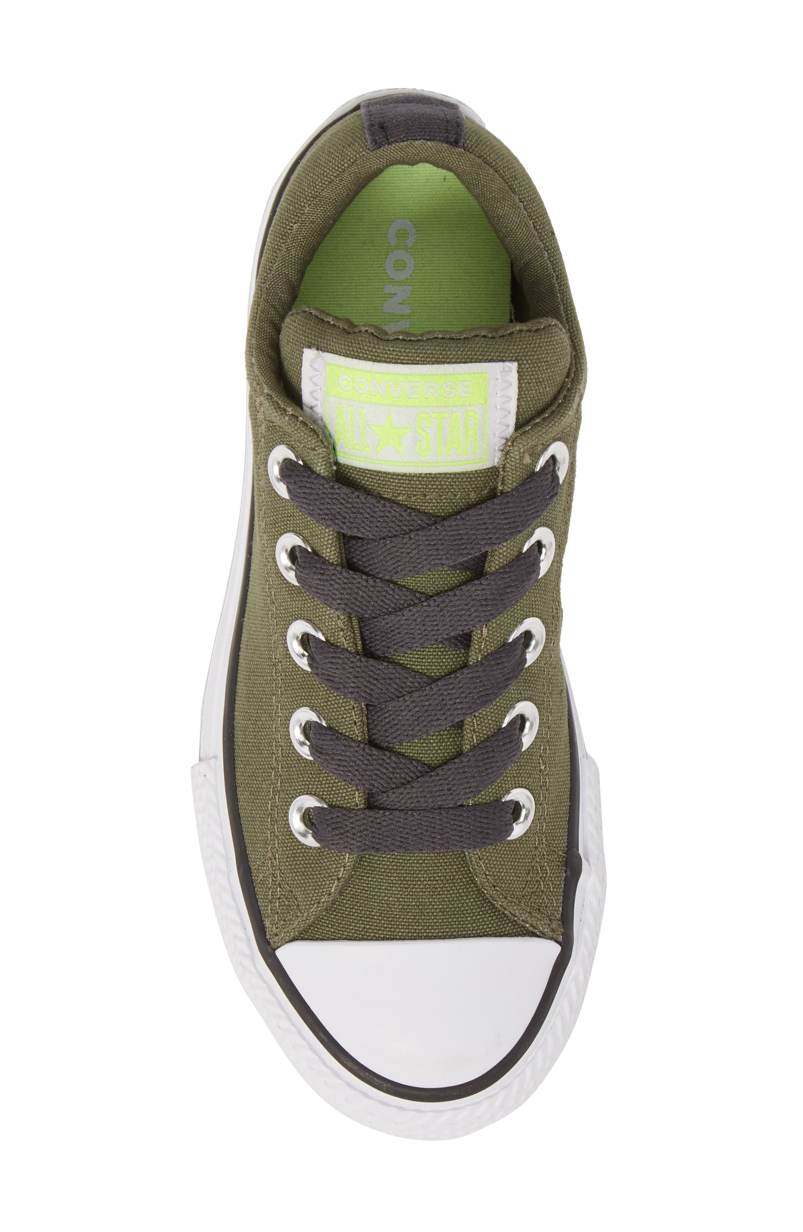Chuck Taylor<sup>®</sup> All Star<sup>®</sup> Street Slip Low Top Sneaker,                             Alternate thumbnail 5, color,                             322