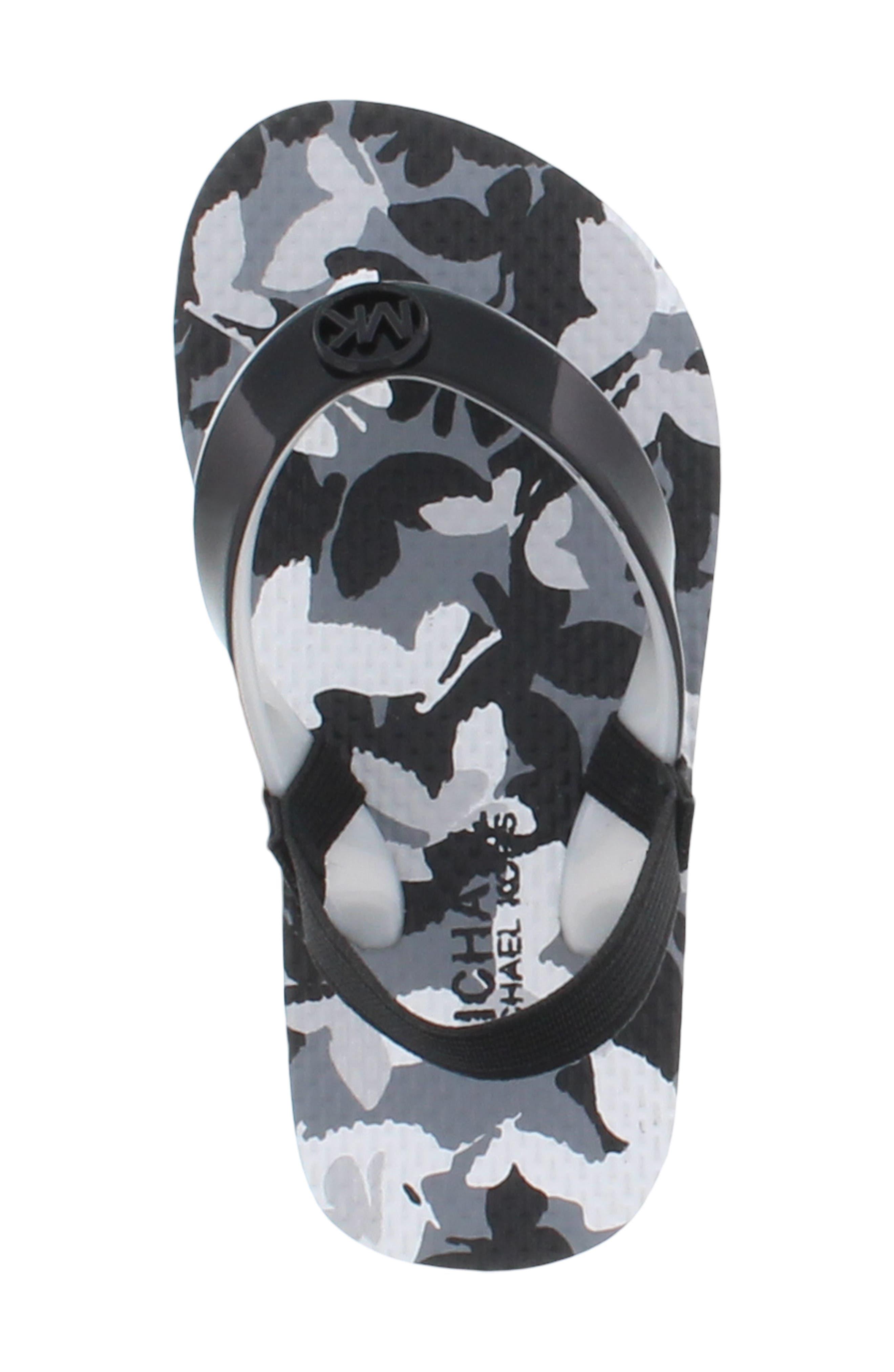 Endine Butterfly Sandal,                             Alternate thumbnail 5, color,                             BLACK GREY