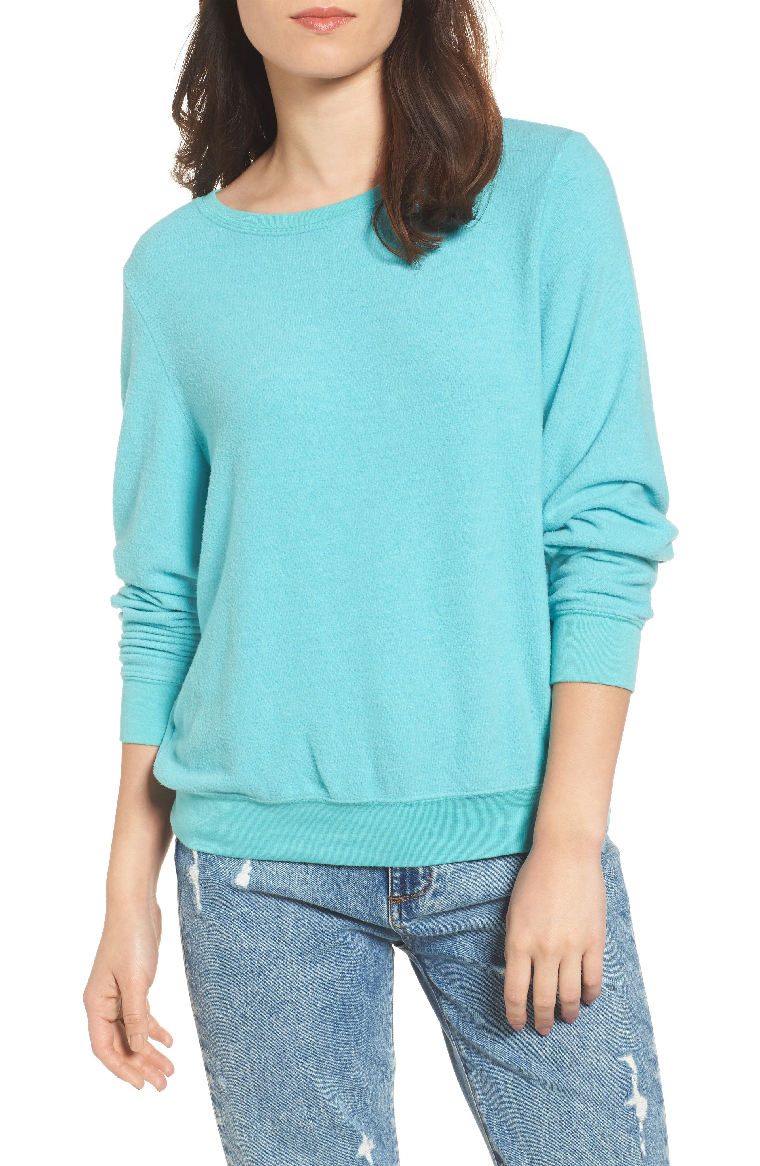 'Baggy Beach Jumper' Pullover,                             Main thumbnail 10, color,