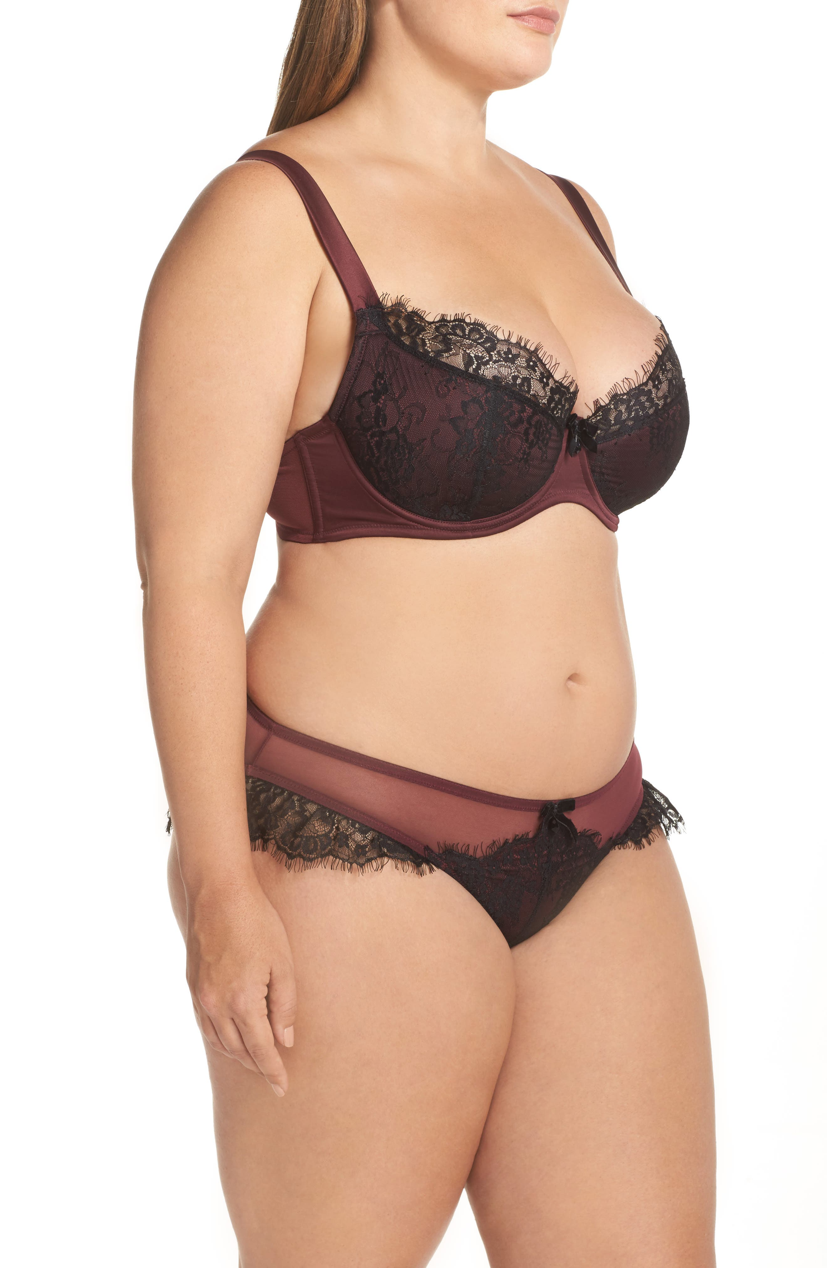 Karine Curve Underwire Bra,                             Alternate thumbnail 9, color,