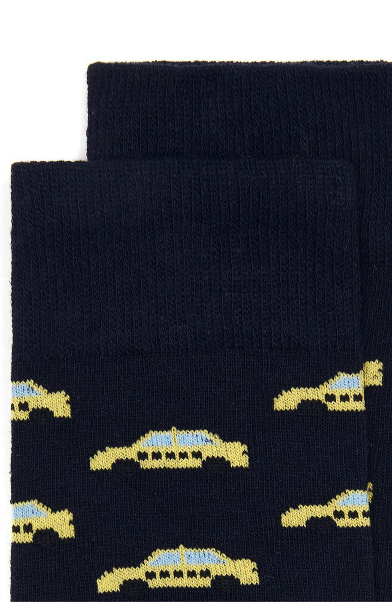 Taxi Crew Socks,                             Alternate thumbnail 2, color,