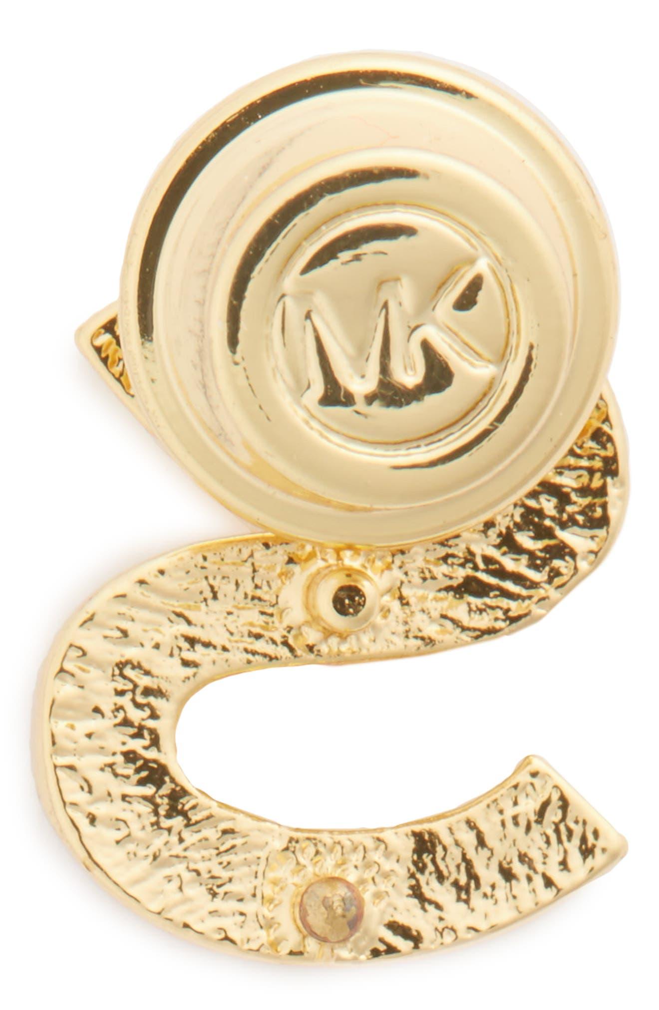 MICHAEL Michael Kors Pavé Letter Pin,                             Alternate thumbnail 29, color,