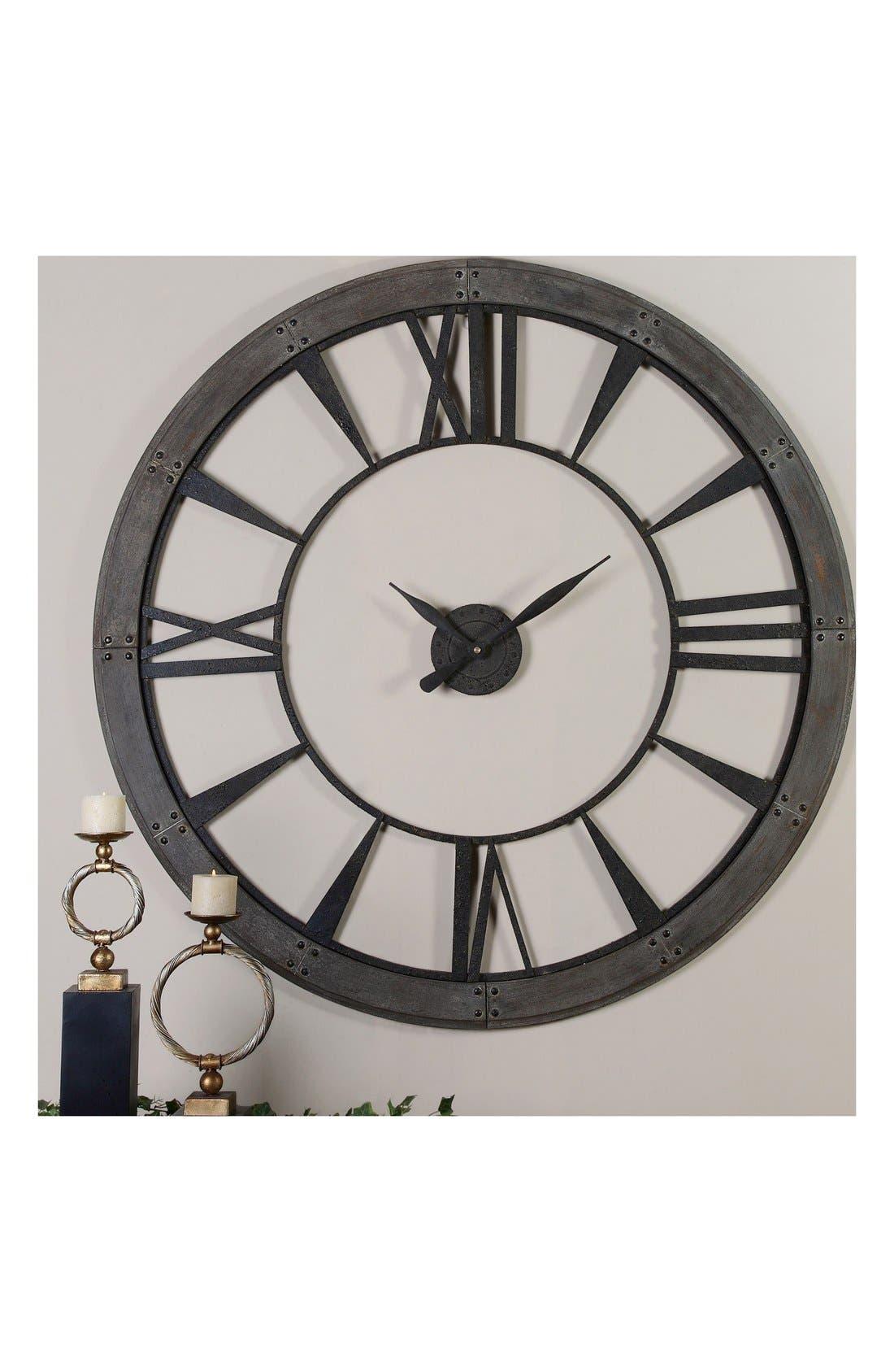 'Ronan' Wall Clock,                             Alternate thumbnail 2, color,                             001