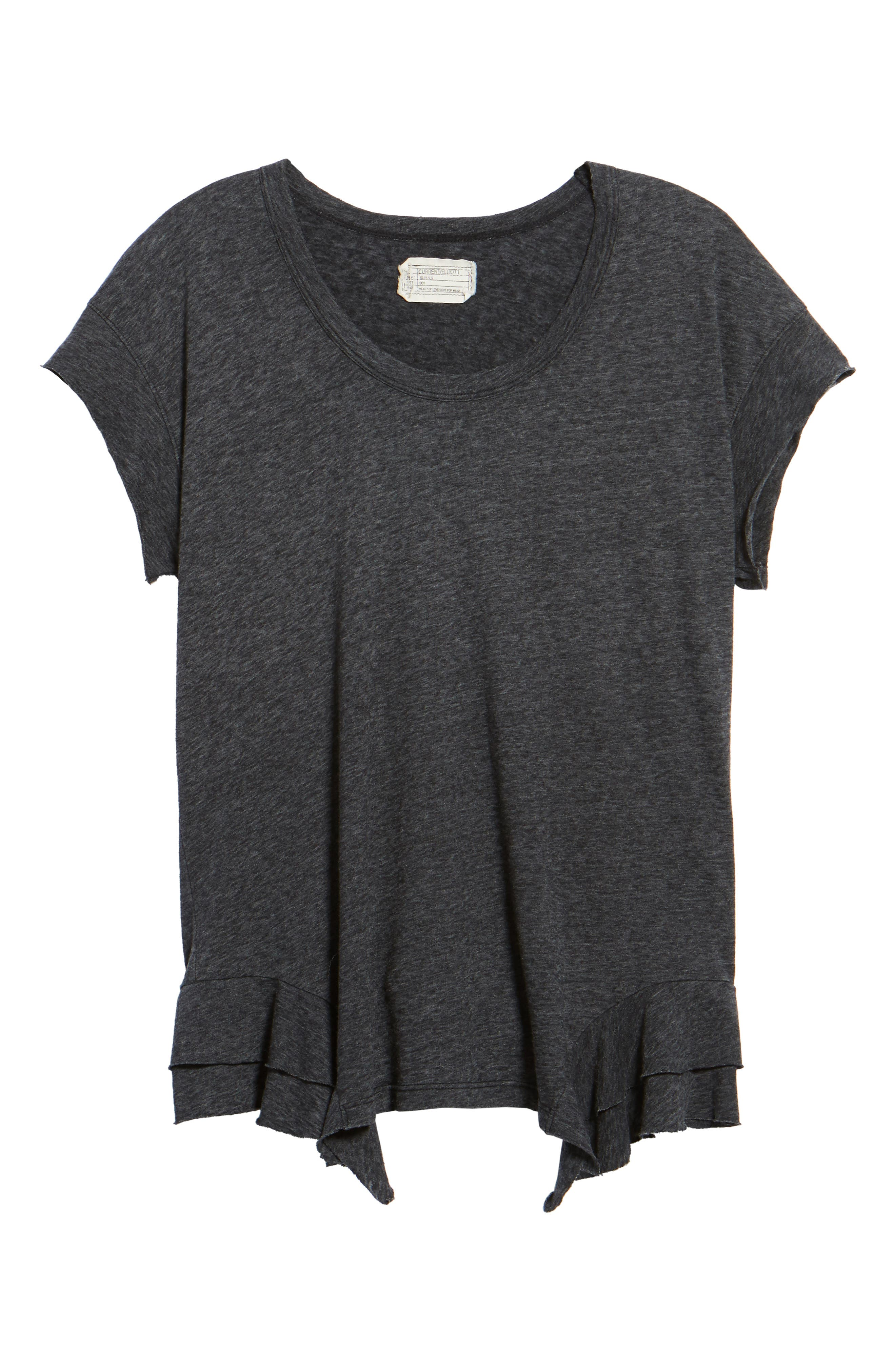 The Tier Ruffle Tee,                             Alternate thumbnail 6, color,                             088