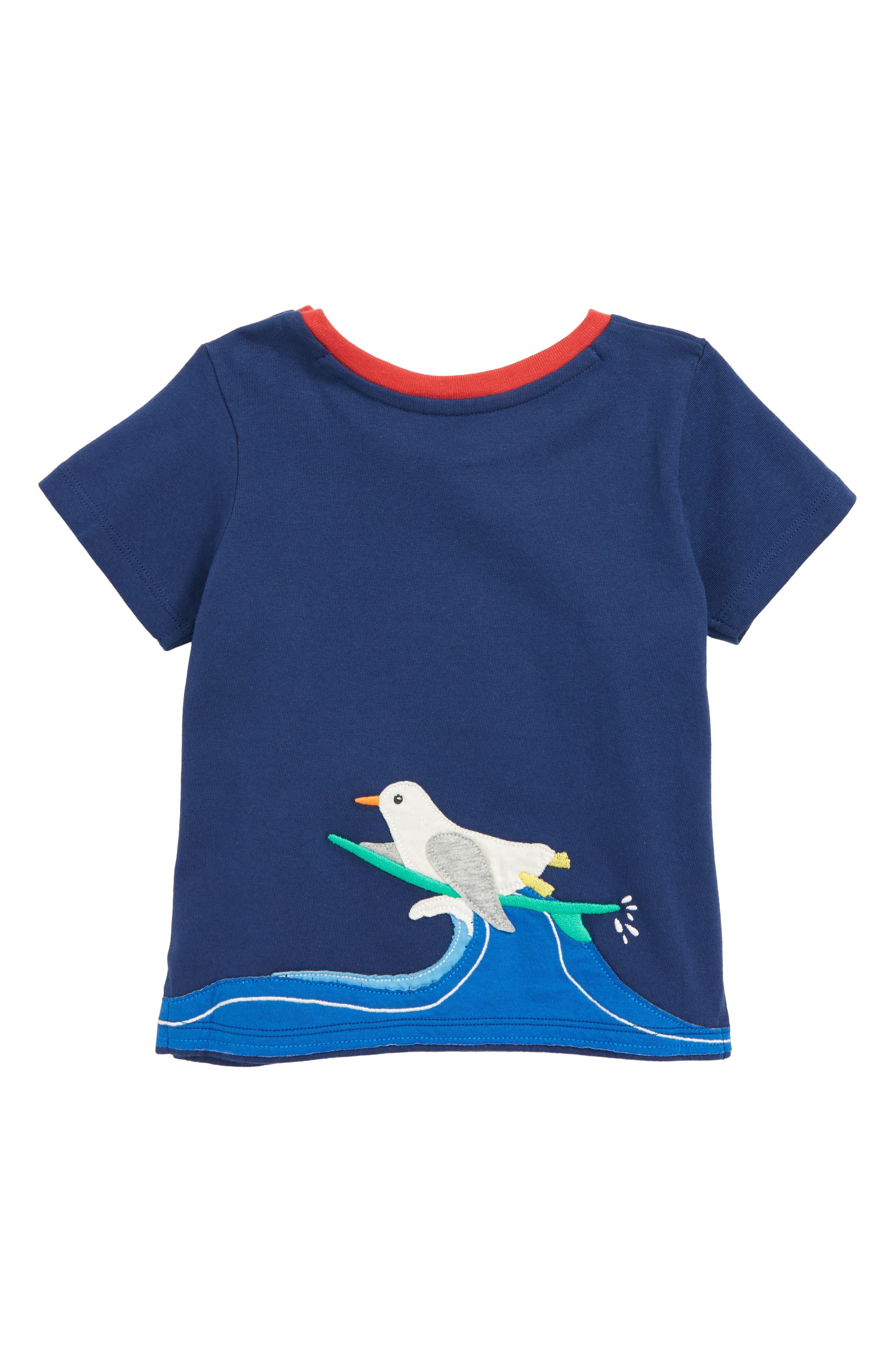 Animal Appliqué T-Shirt,                             Alternate thumbnail 2, color,
