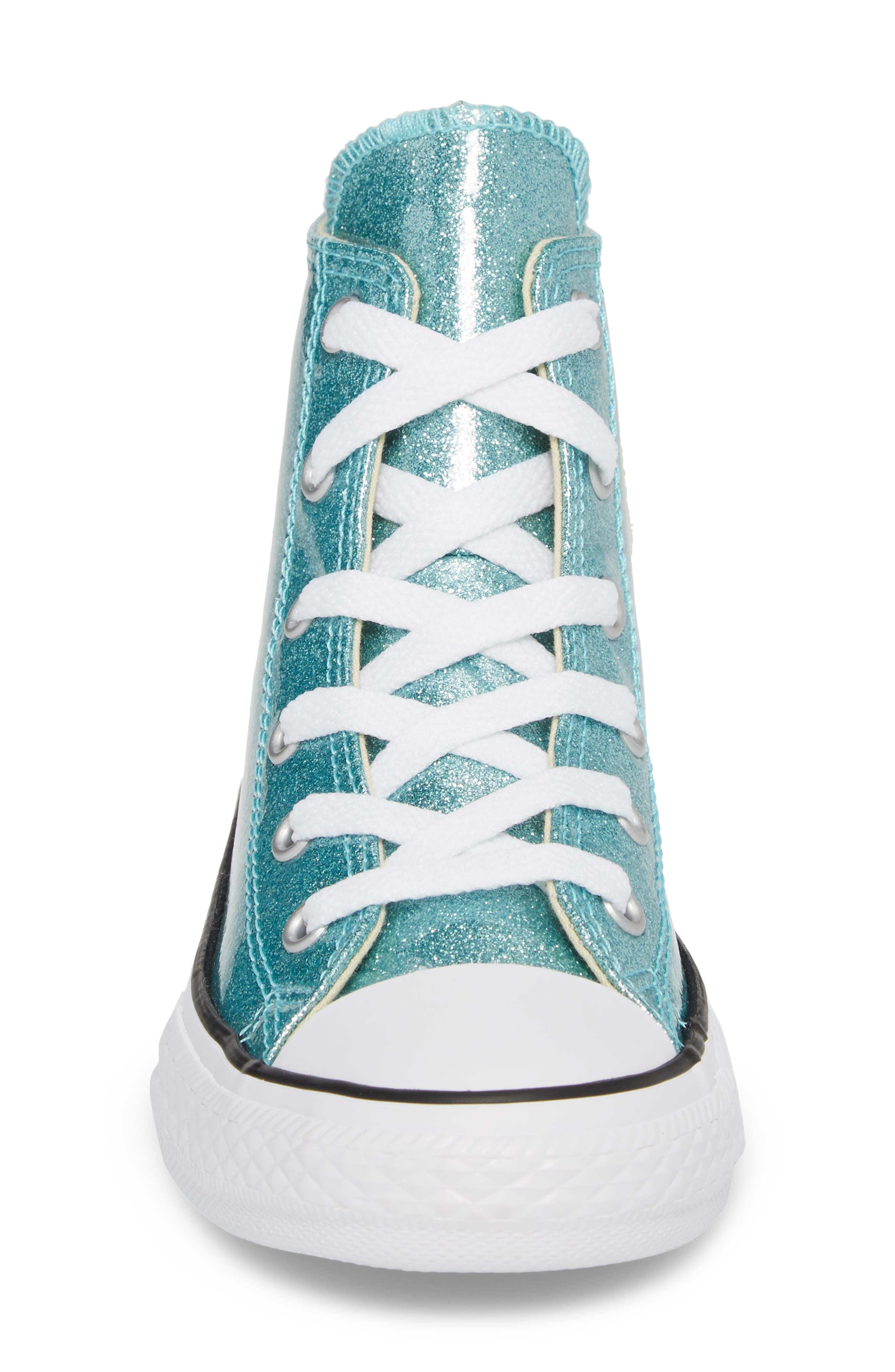 All Star<sup>®</sup> Glitter High Top Sneaker,                             Alternate thumbnail 4, color,                             400