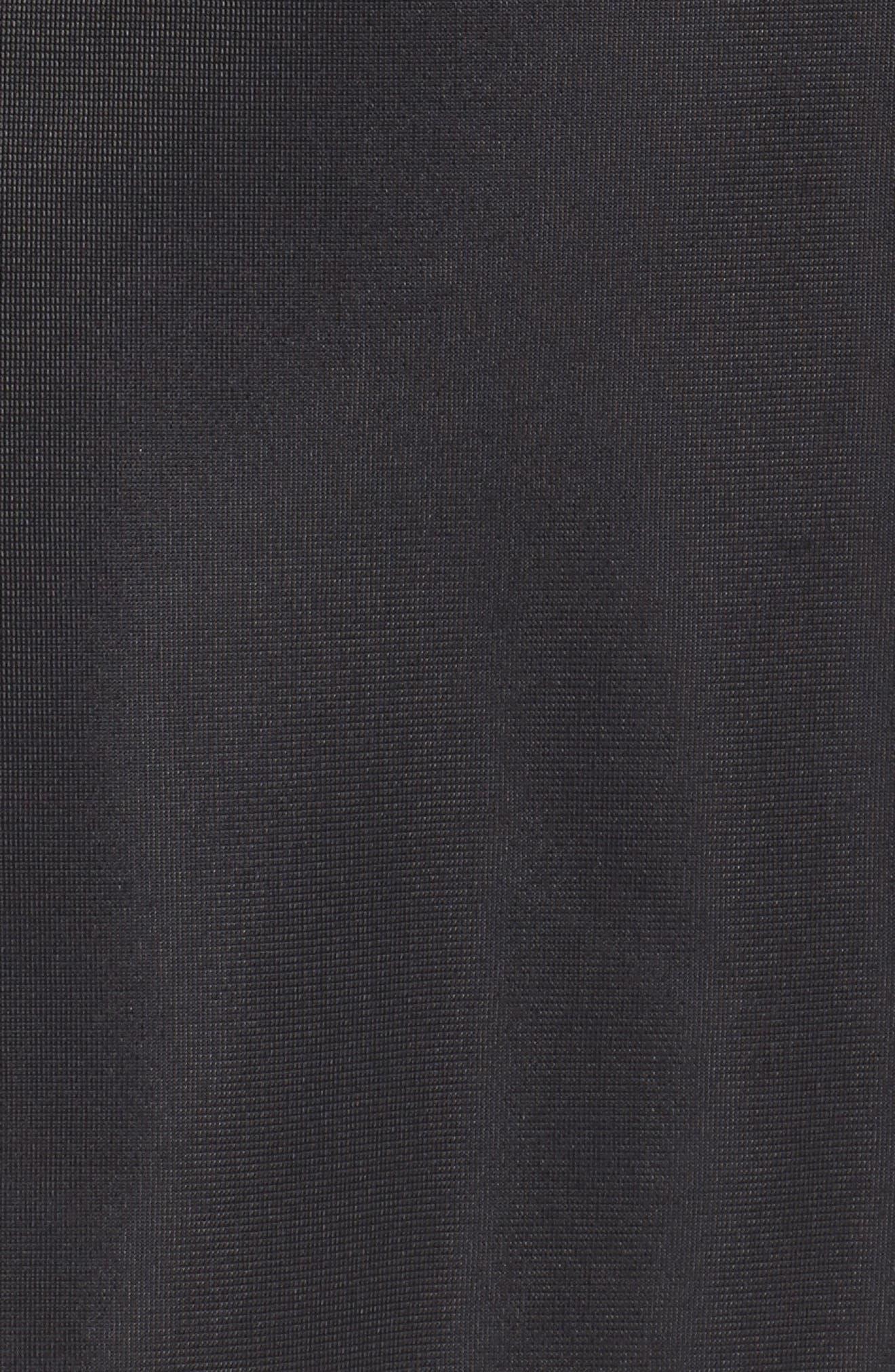 Authentic Piqué Skirt,                             Alternate thumbnail 6, color,                             001