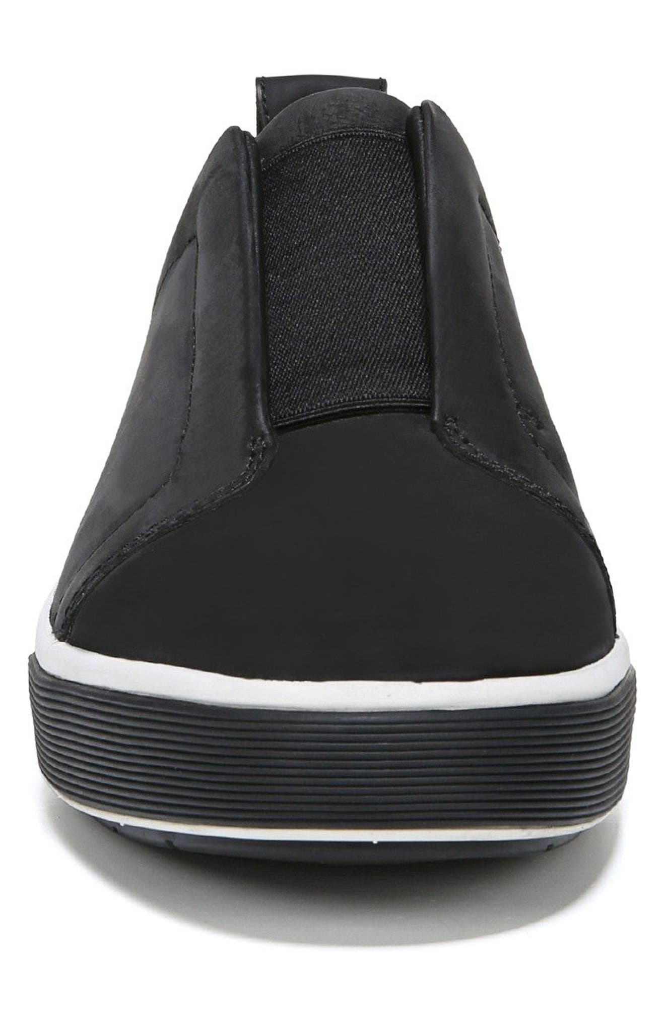 Ranger Laceless Sneaker,                             Alternate thumbnail 4, color,                             BLACK
