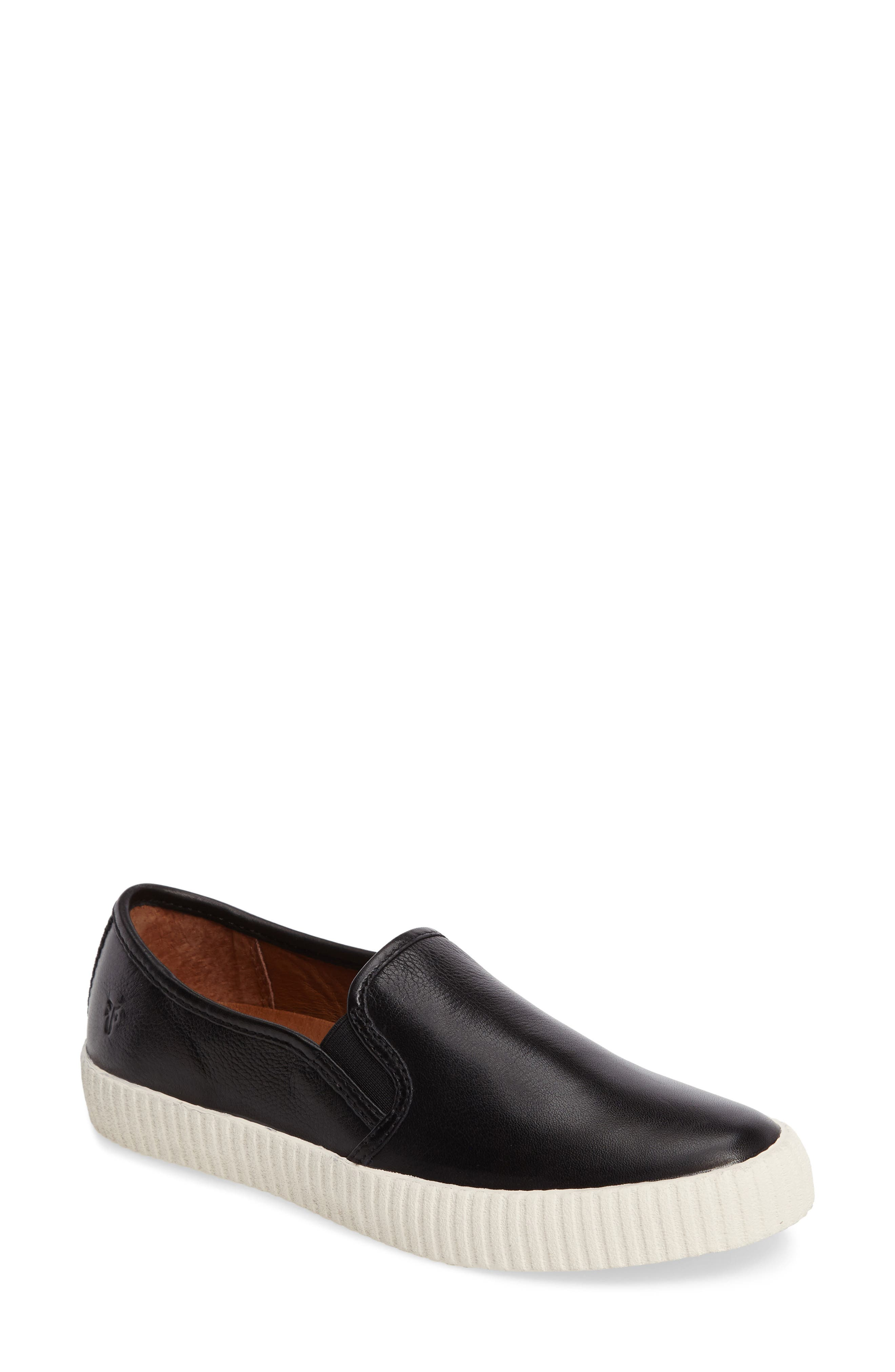 Camille Slip-On Sneaker,                         Main,                         color, 001