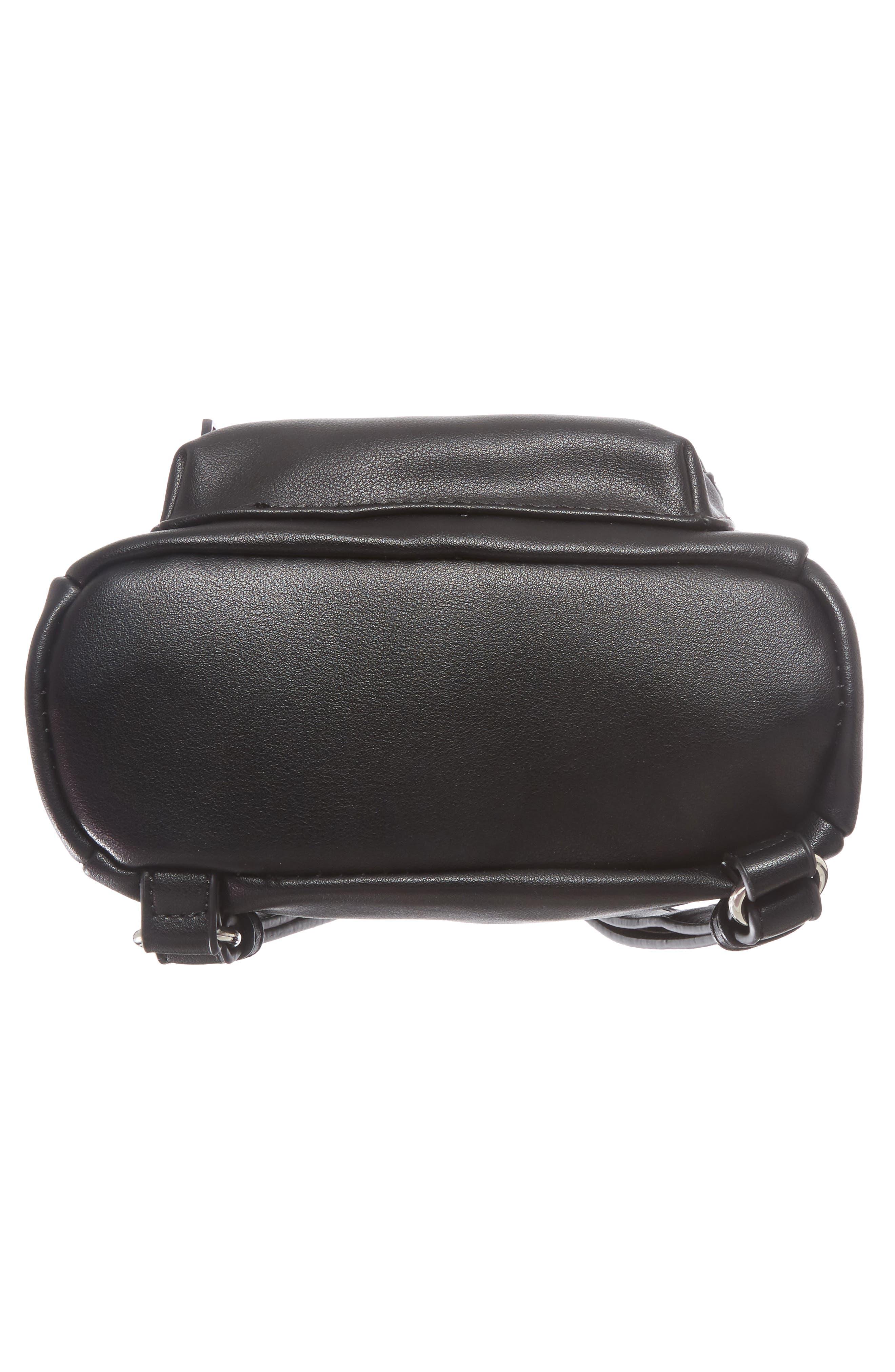 Faux Leather Mini Backpack,                             Alternate thumbnail 45, color,