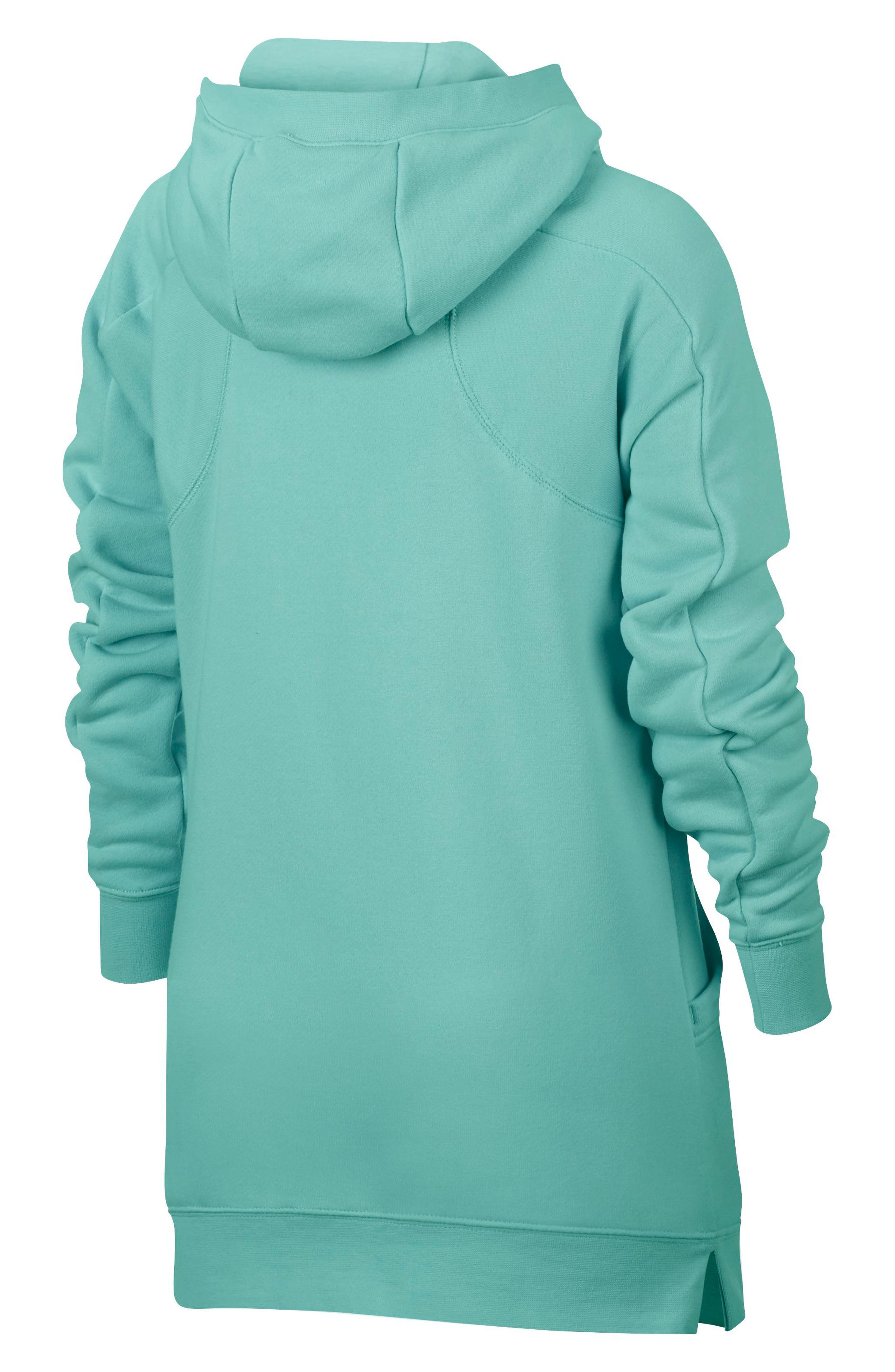 Modern Full Zip Hoodie,                             Alternate thumbnail 6, color,