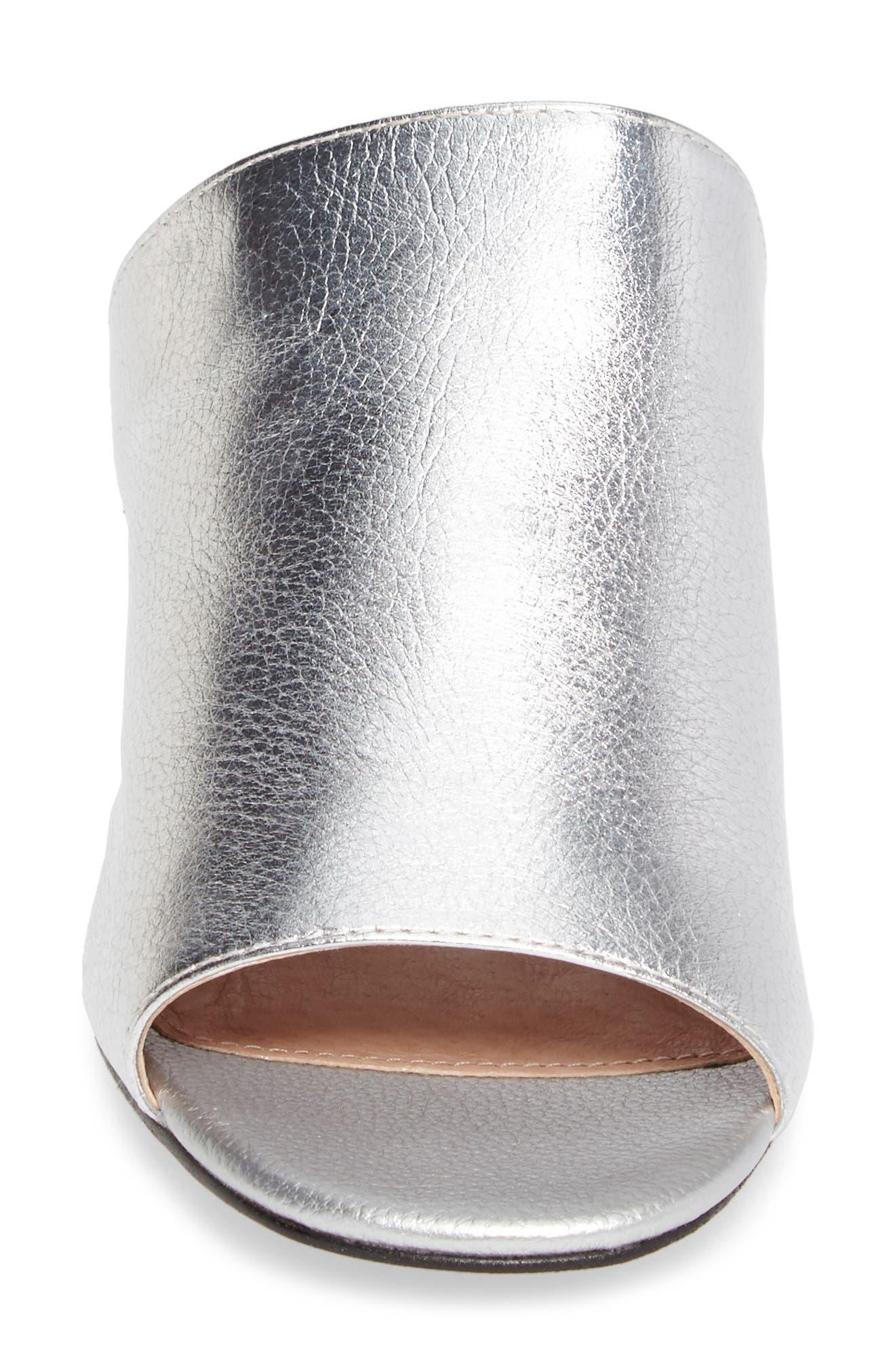 Notorious Metallic Slide Sandal,                             Alternate thumbnail 4, color,                             040
