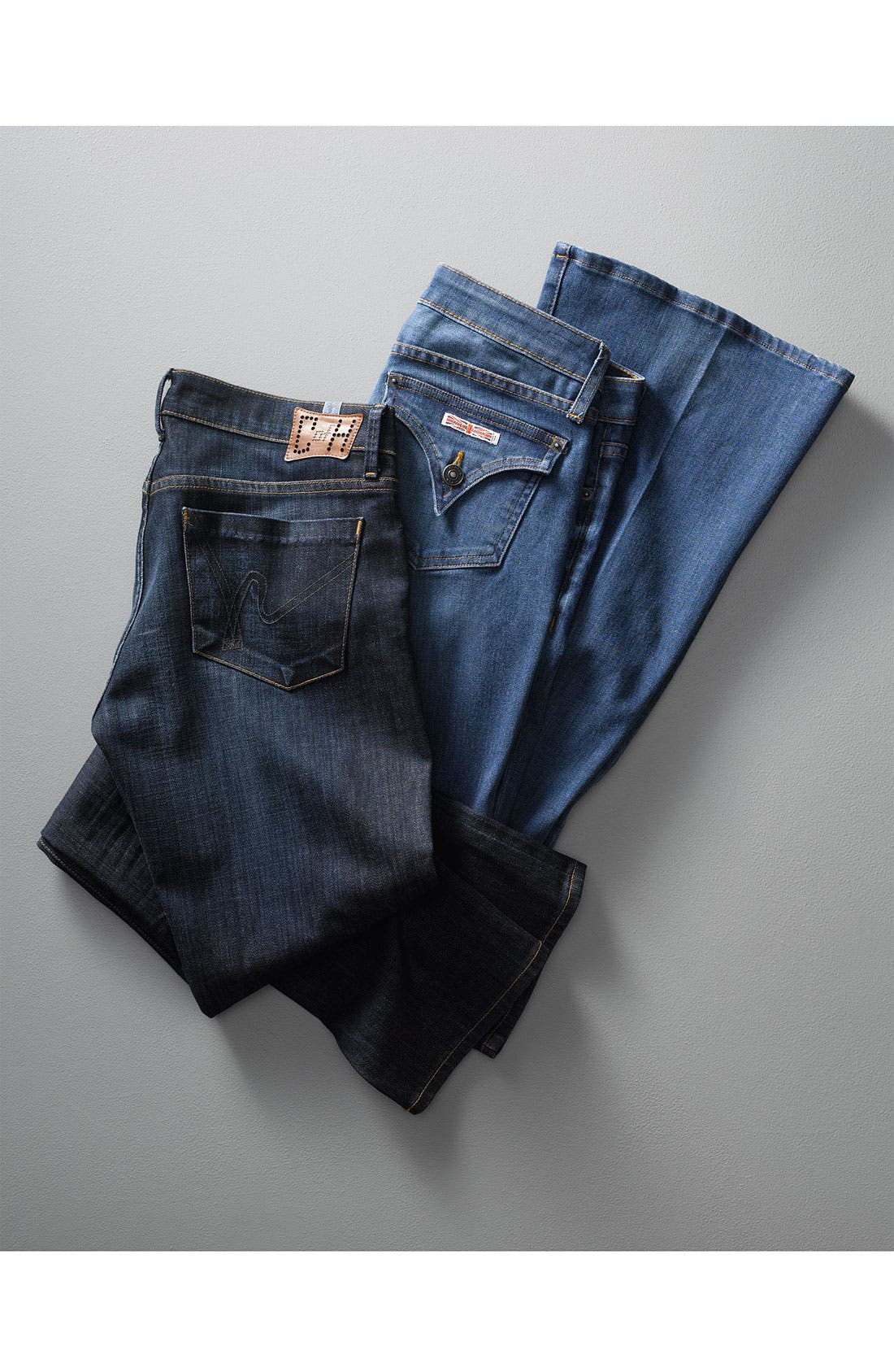 HUDSON JEANS,                             'Ferris' Flare Leg Stretch Denim Jeans,                             Alternate thumbnail 5, color,                             401