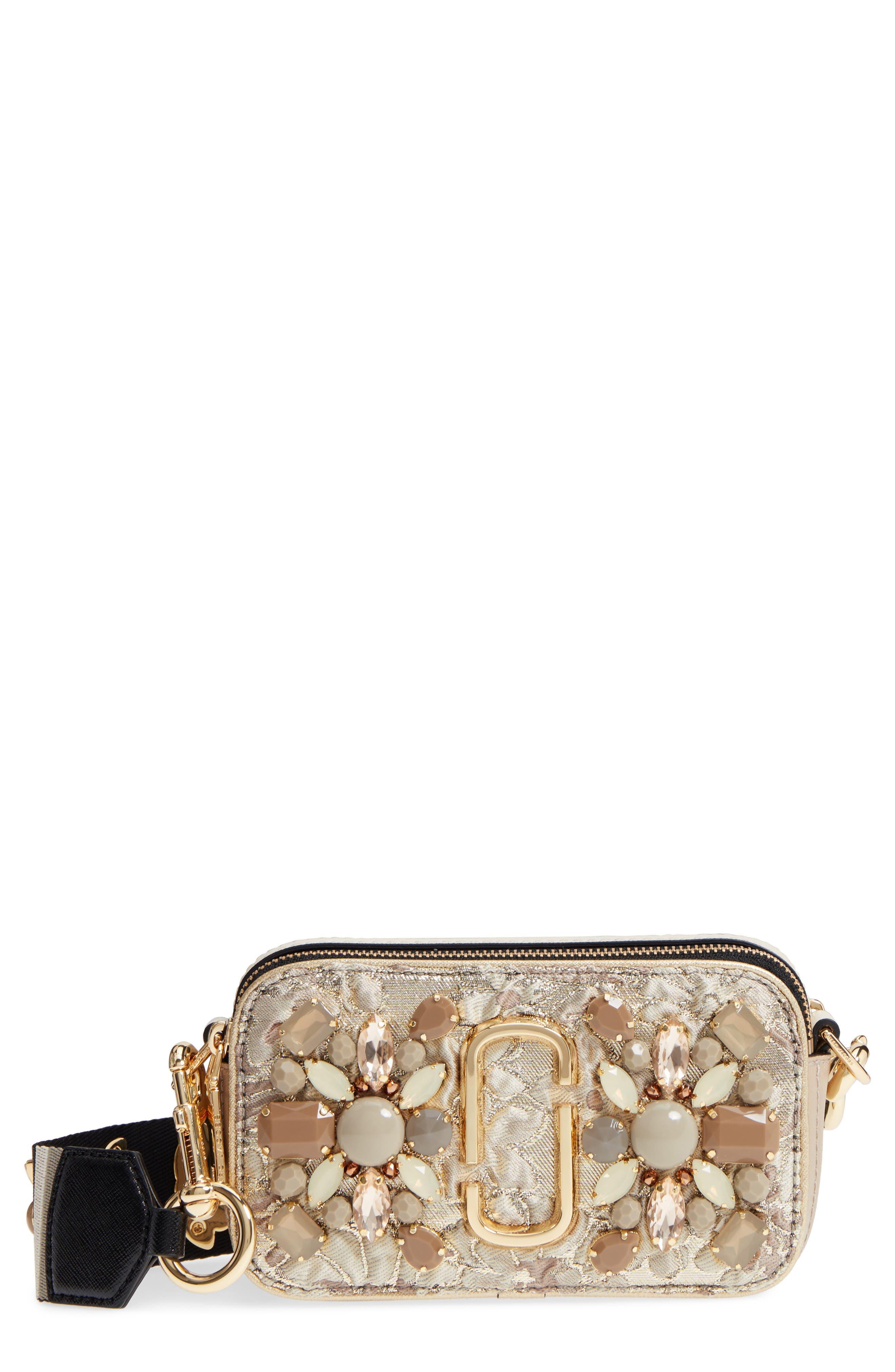 Snapshot Brocade Crossbody Bag,                         Main,                         color, 250