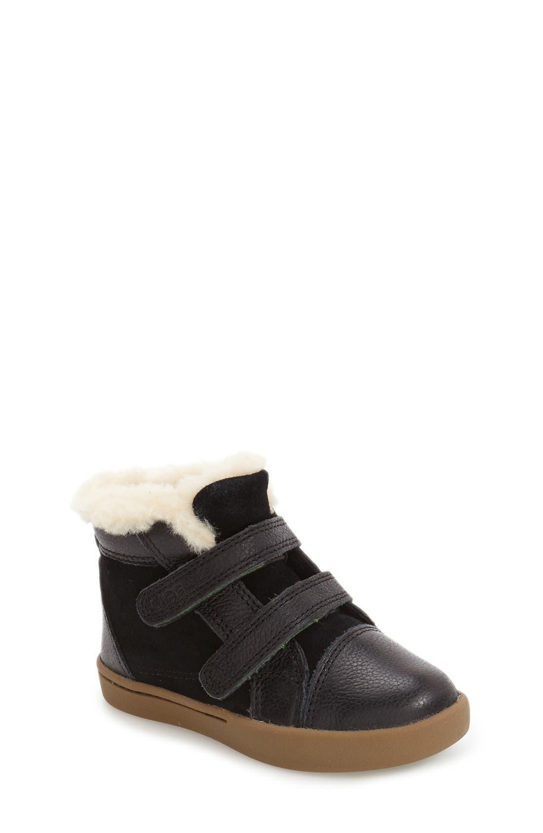 Rennon High Top Sneaker,                             Main thumbnail 1, color,                             001