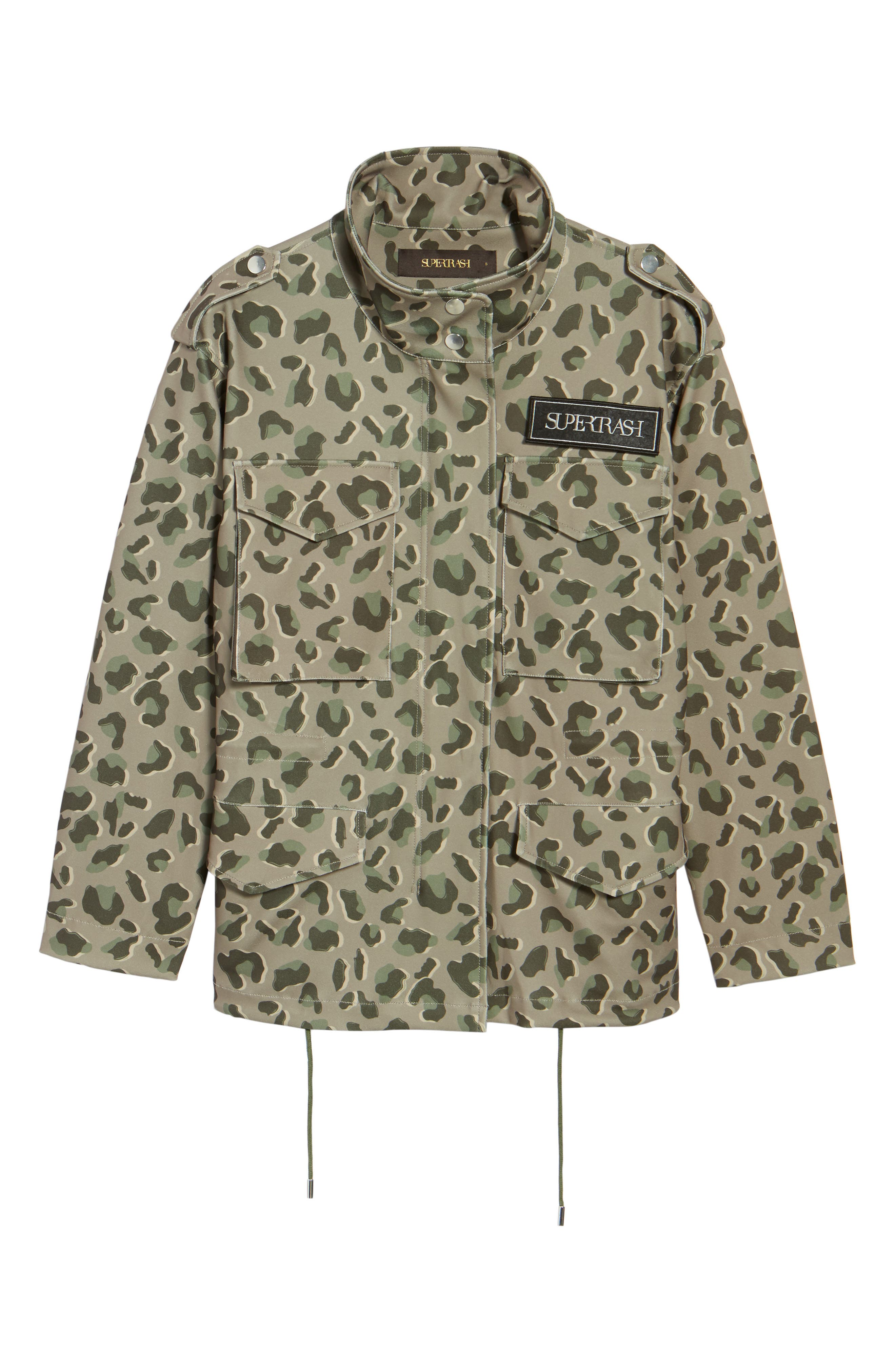 Osy Camo Print Jacket,                             Alternate thumbnail 5, color,