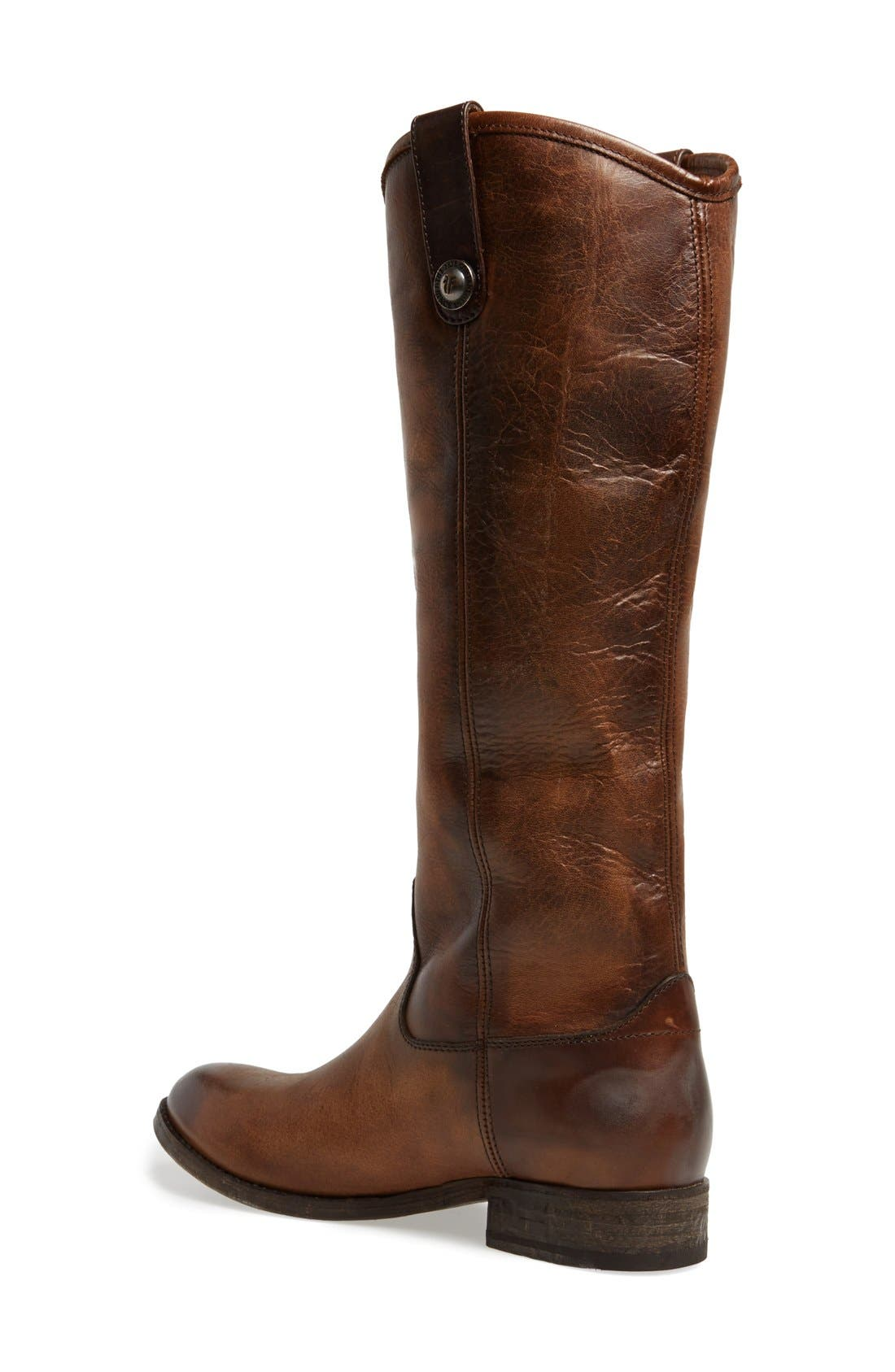 'Melissa Button' Leather Riding Boot,                             Alternate thumbnail 38, color,