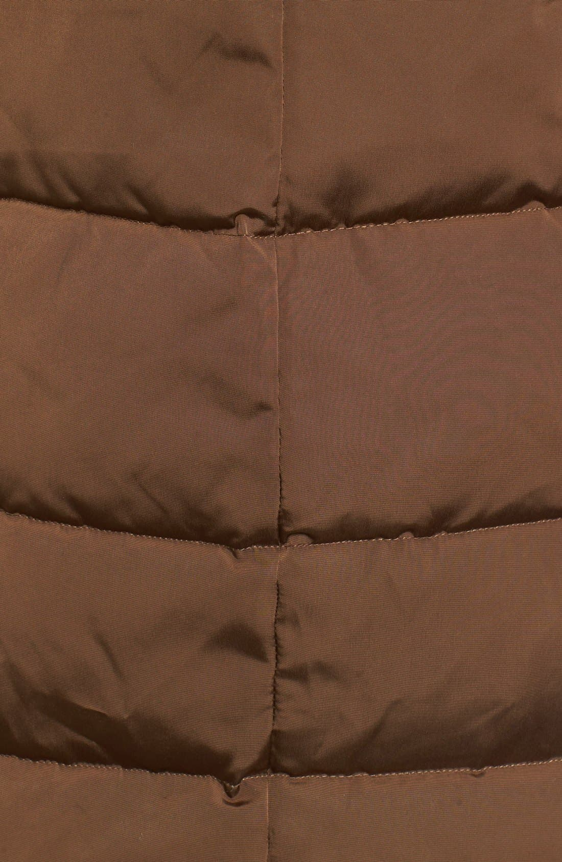Down & Feather Fill Coat with Faux Fur Trim Hood,                             Alternate thumbnail 25, color,