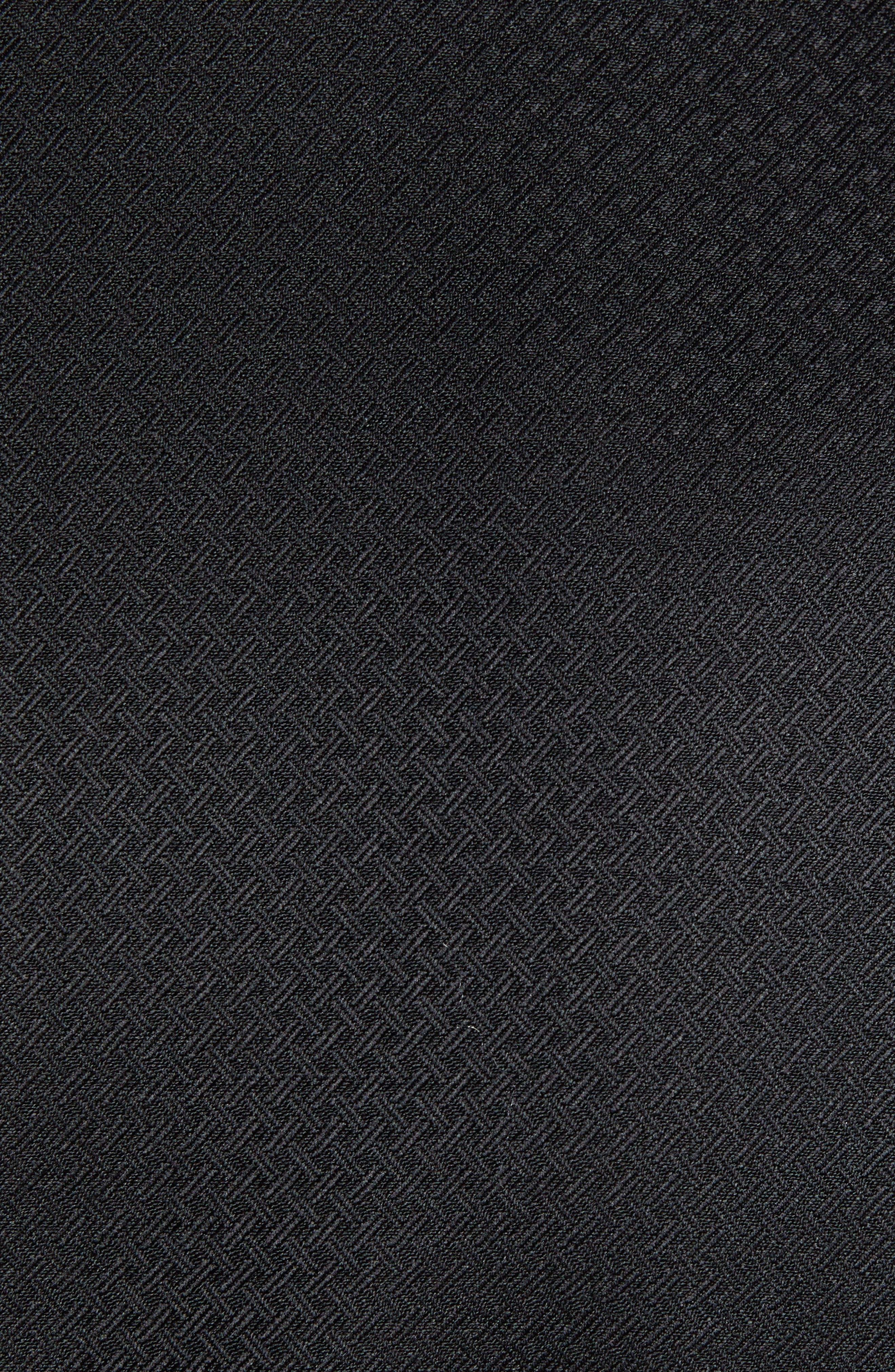 Reed Wool Dinner Jacket,                             Alternate thumbnail 6, color,                             BLACK