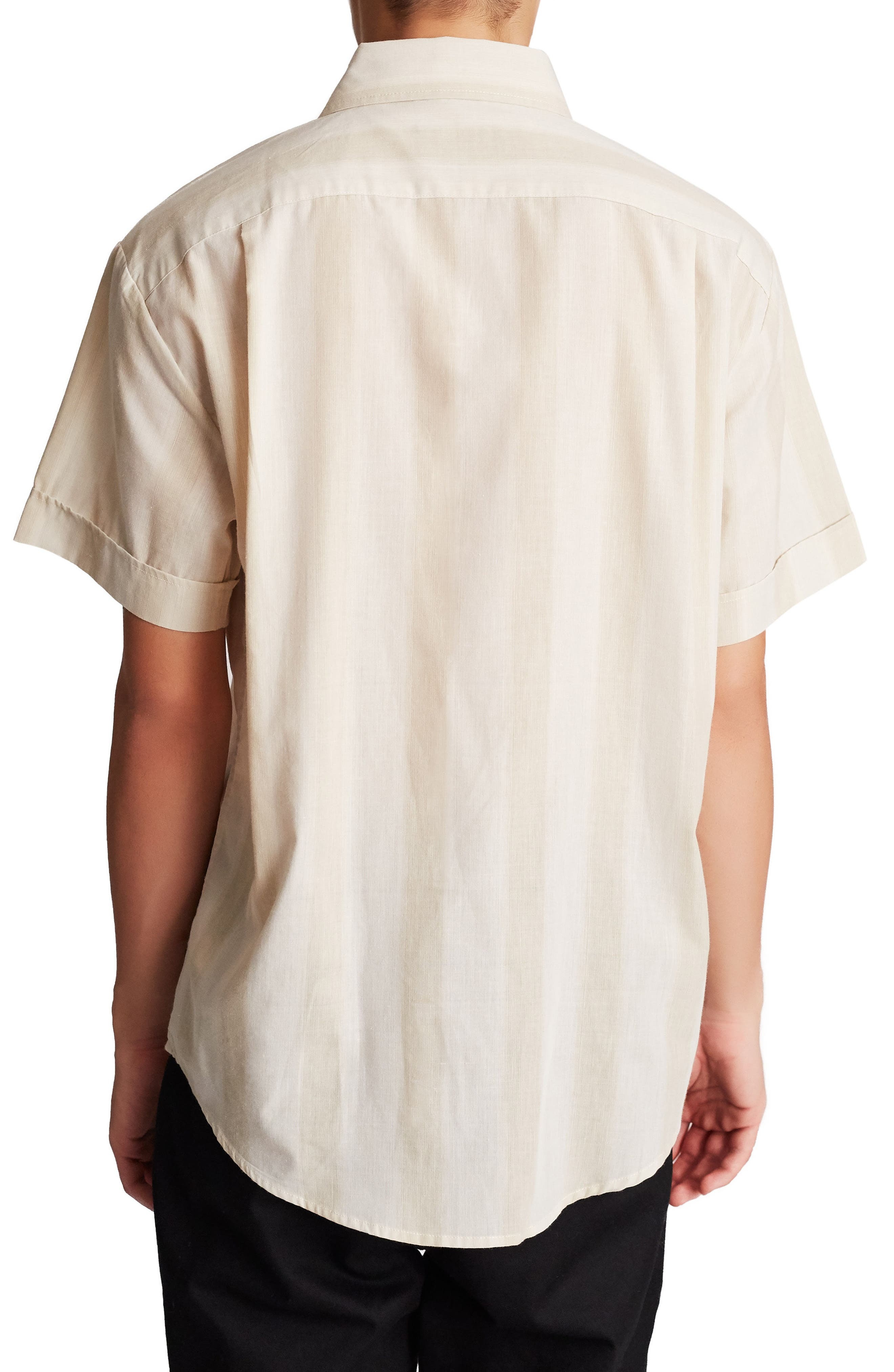 Branson Woven Shirt,                             Alternate thumbnail 2, color,                             GREY/ MINT