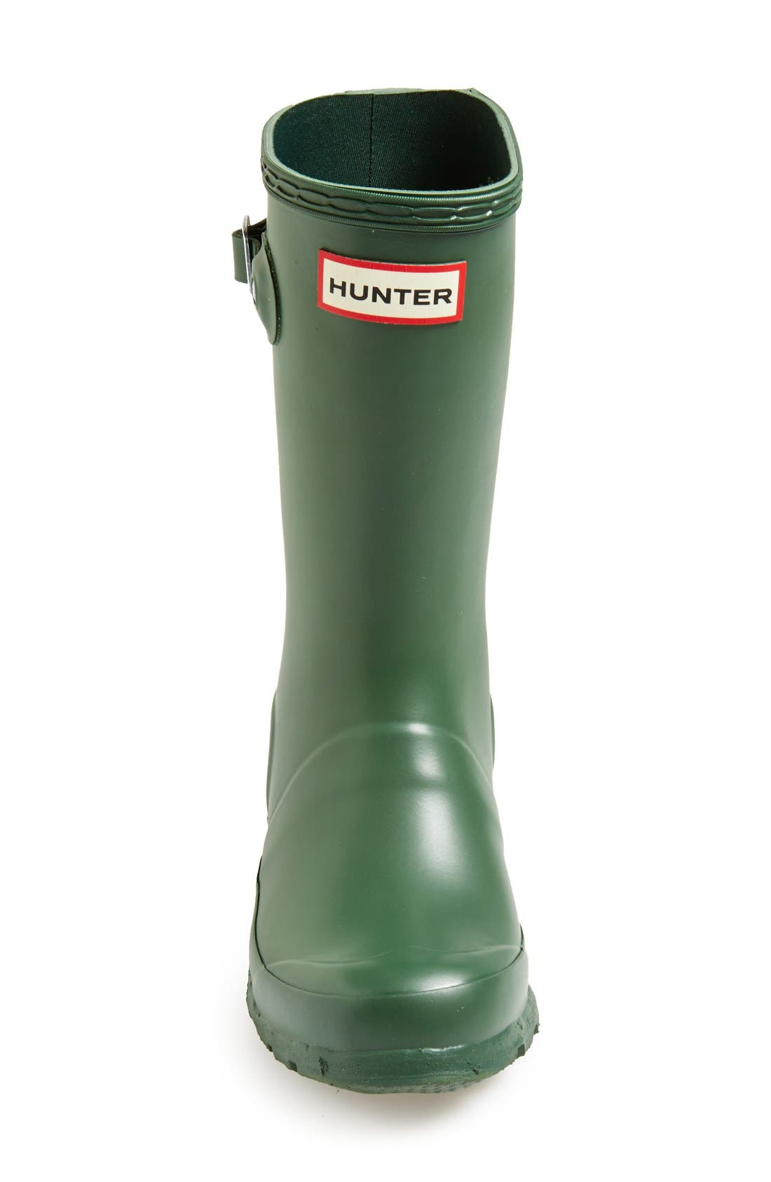Original Rain Boot,                             Alternate thumbnail 3, color,                             HUNTER GREEN
