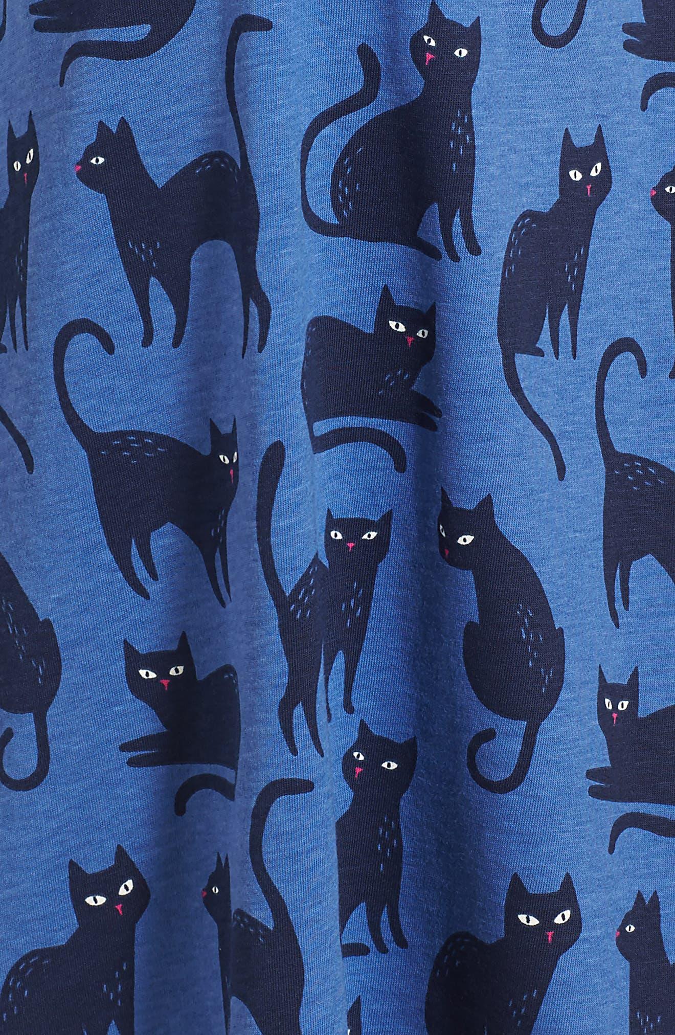 Cat Glow in the Dark Dress,                             Alternate thumbnail 4, color,                             404