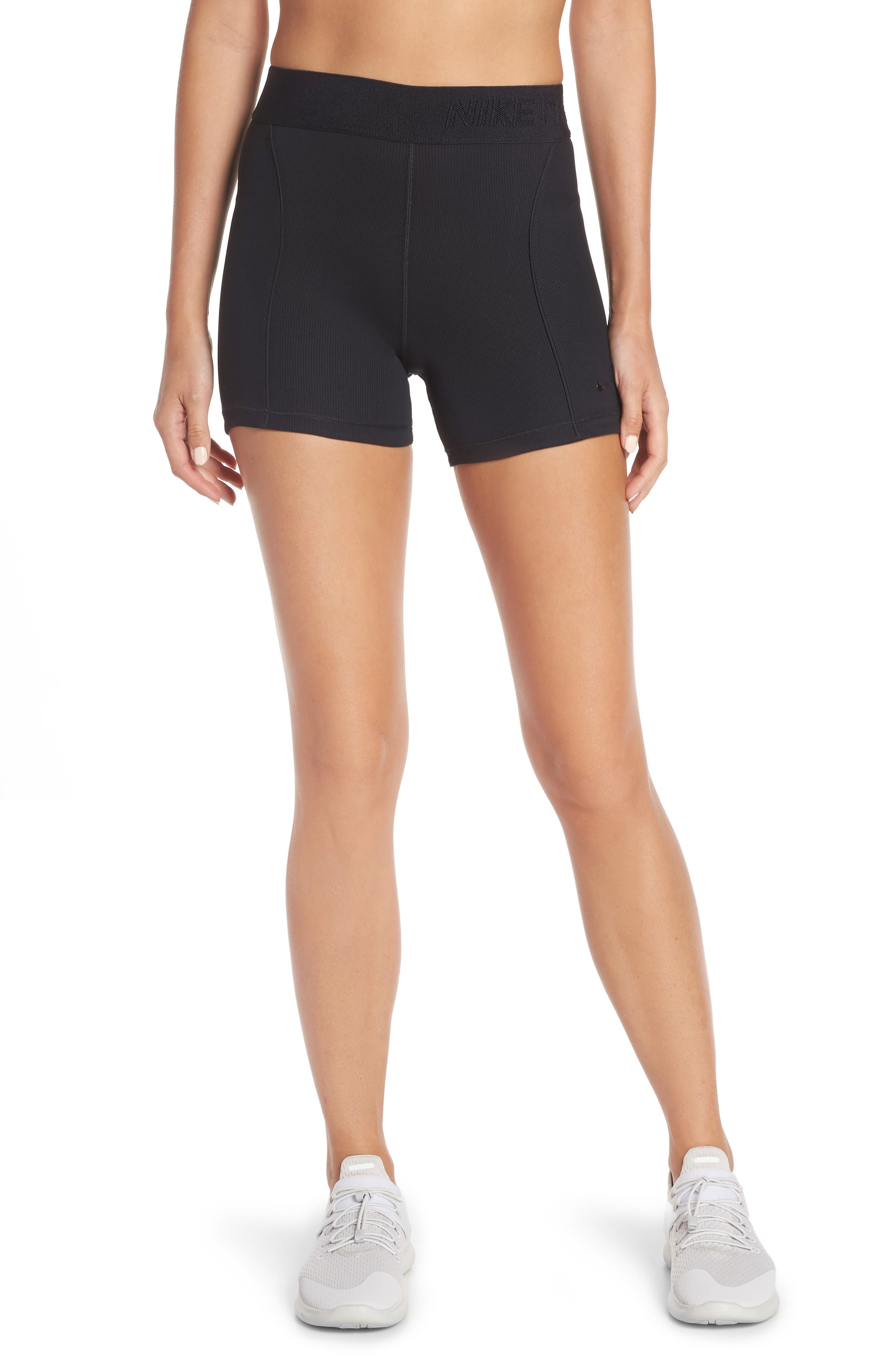 Pro Hyper Cool Women's Ribbed Shorts by Nike