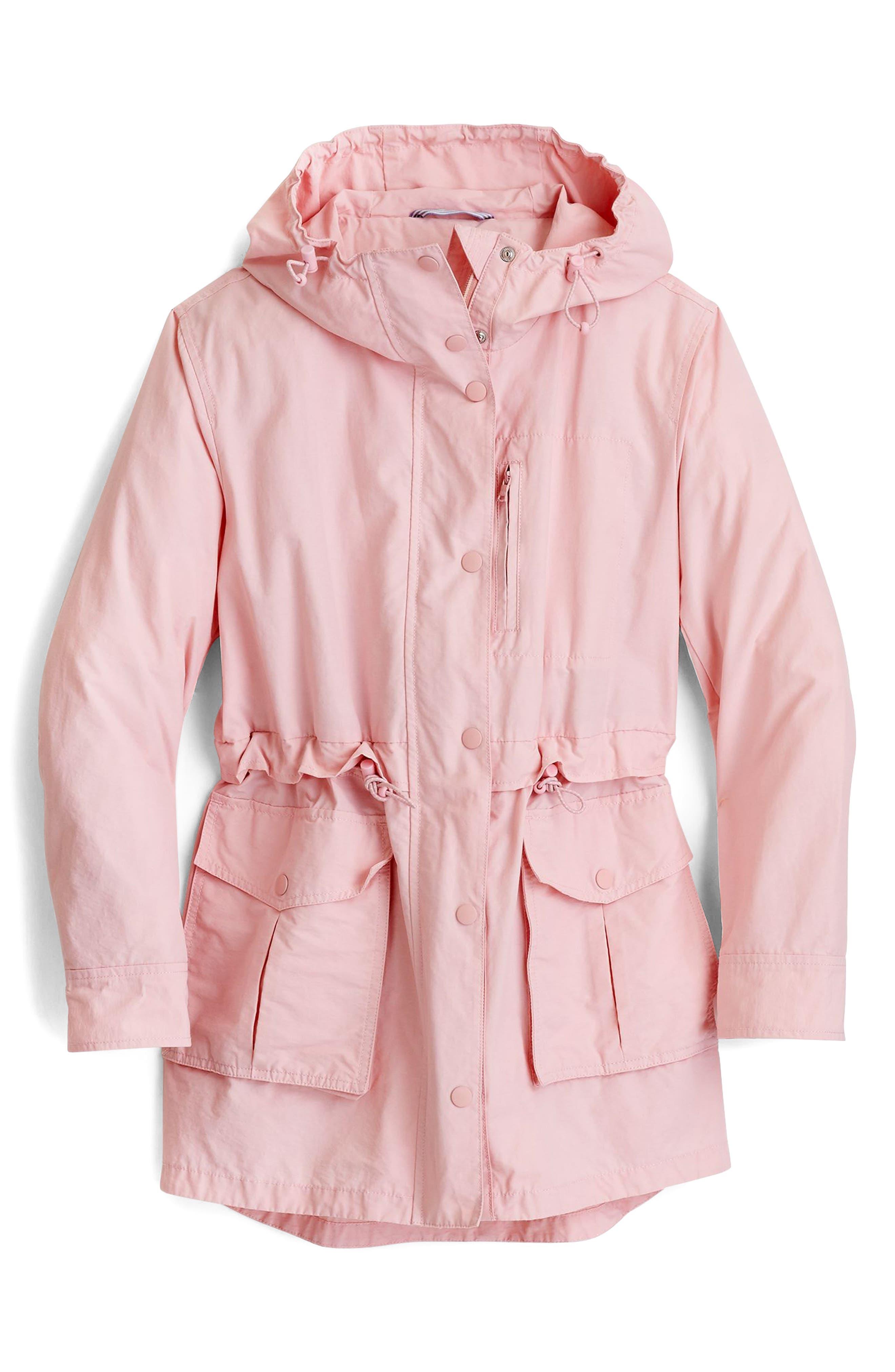 Perfect Raincoat,                             Alternate thumbnail 4, color,                             PINK BLUSH