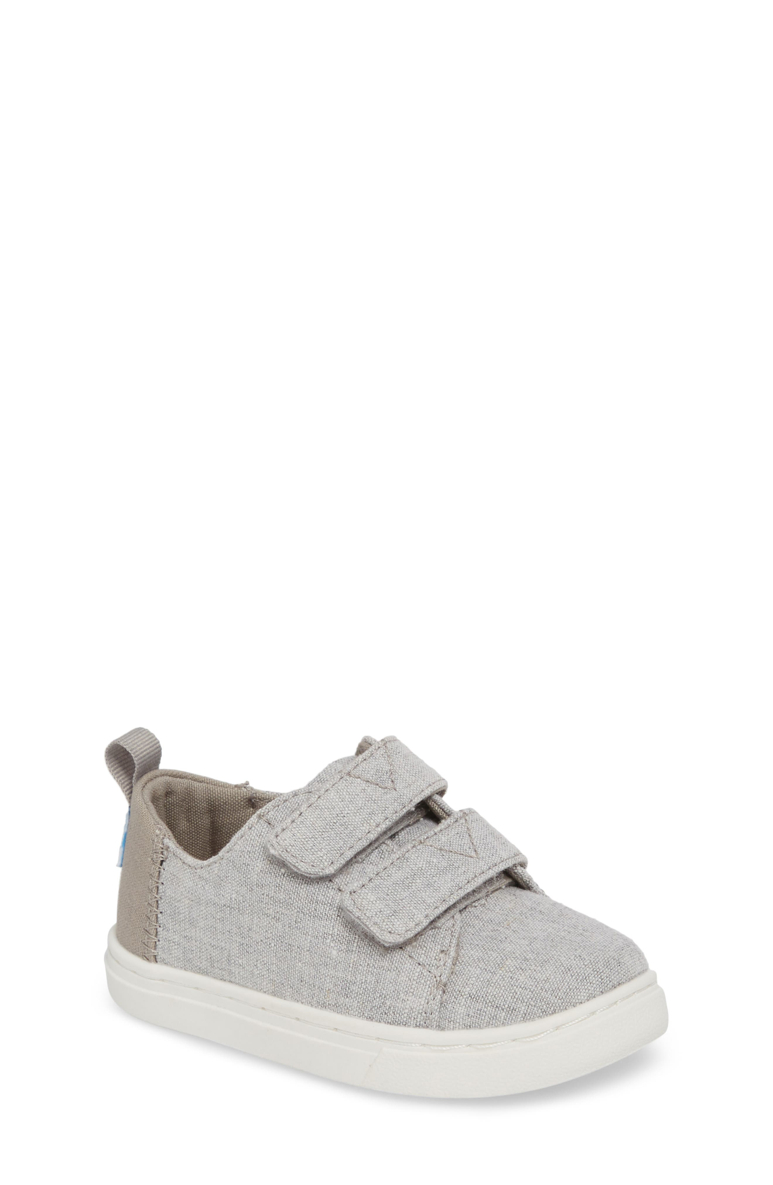 Lenny Sneaker,                         Main,                         color, DRIZZLE GREY CHAMBRAY