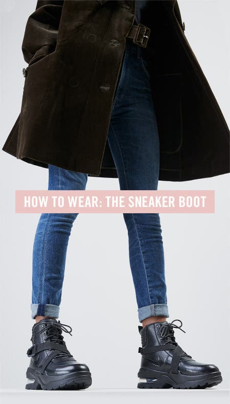 Nordstrom x Nike: how to wear the sneaker boot.