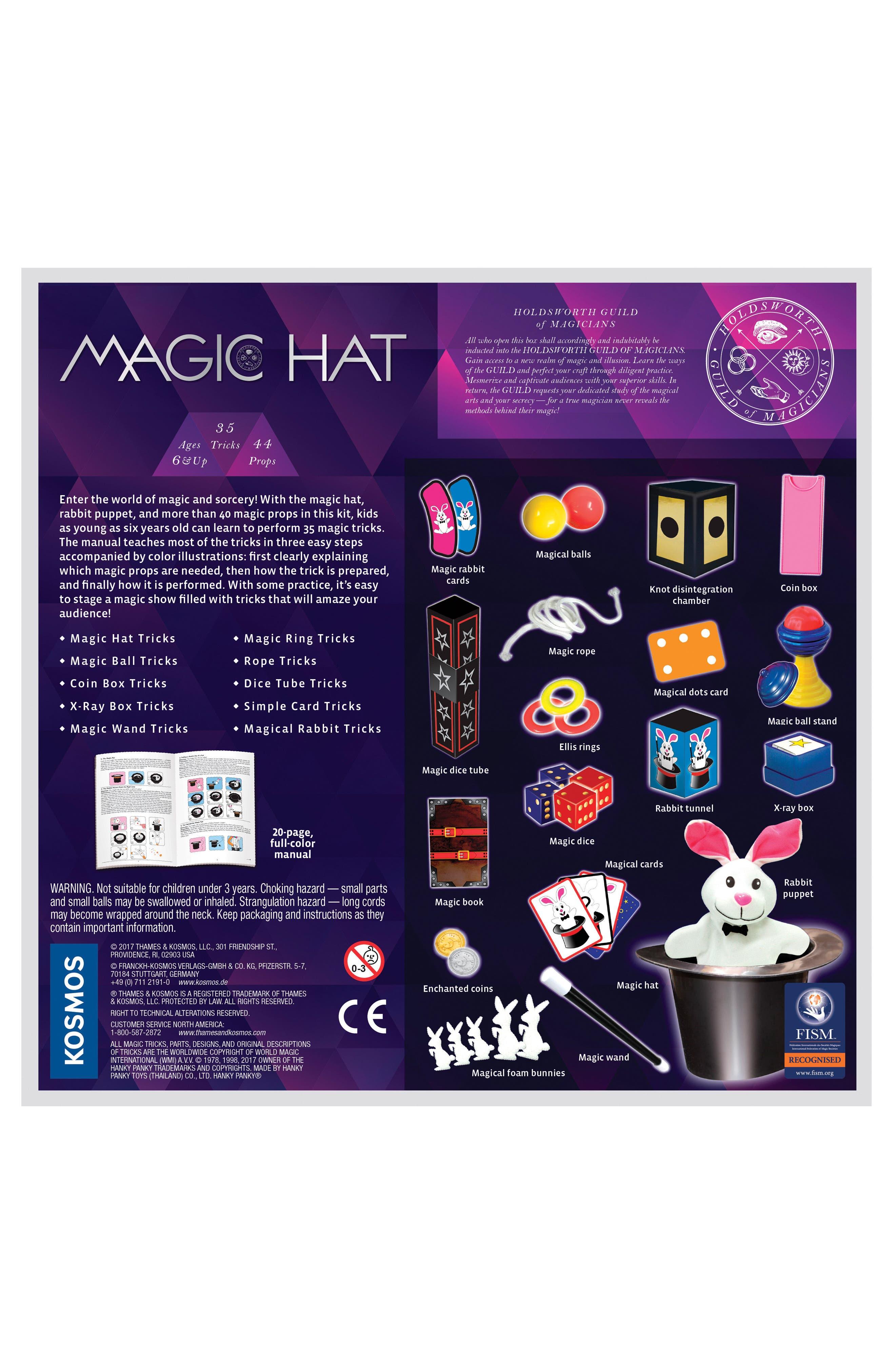 Magic Hat Kit,                             Alternate thumbnail 2, color,                             MULTI