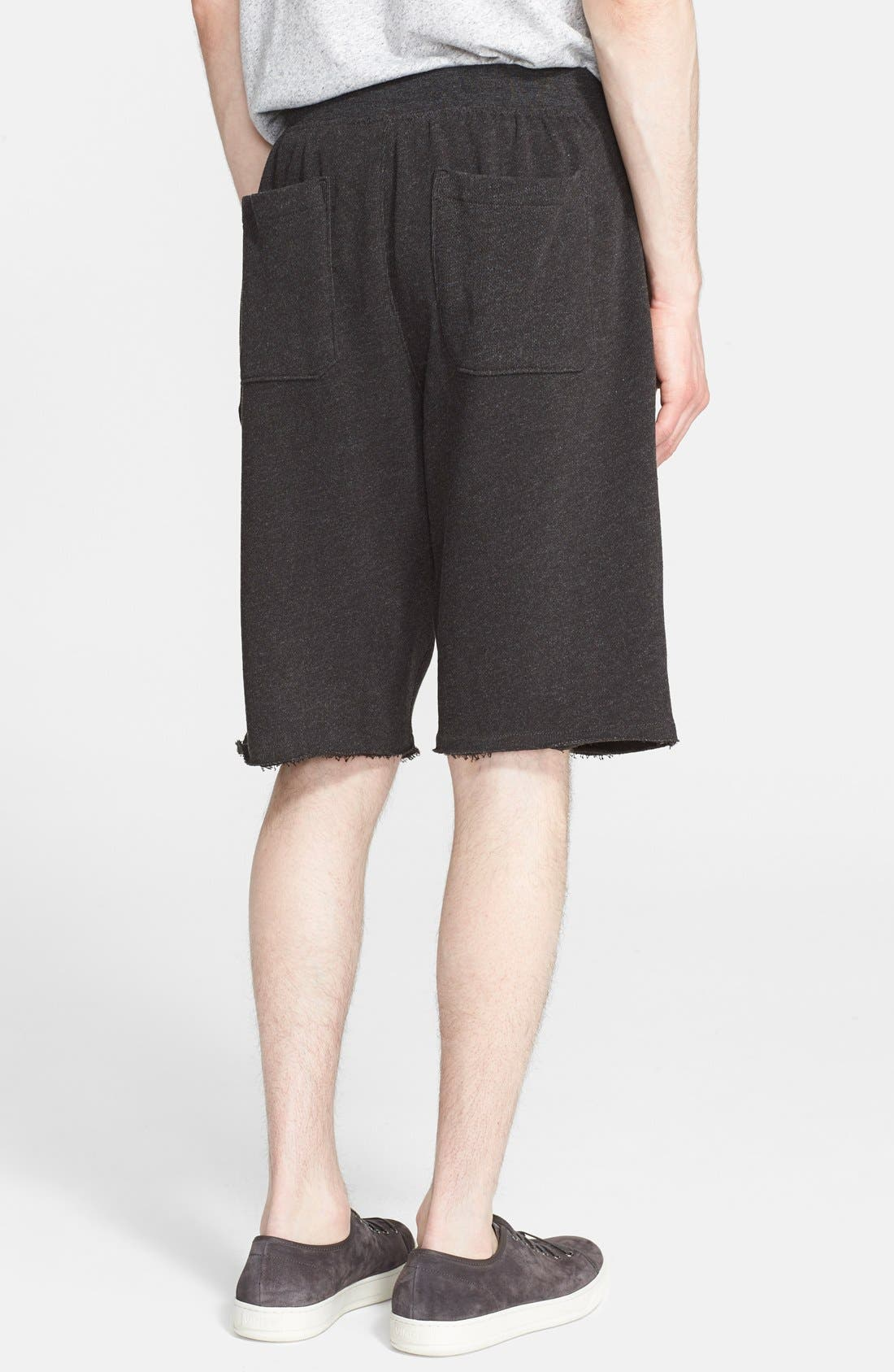 Cutoff Sweat Shorts,                             Alternate thumbnail 2, color,                             021