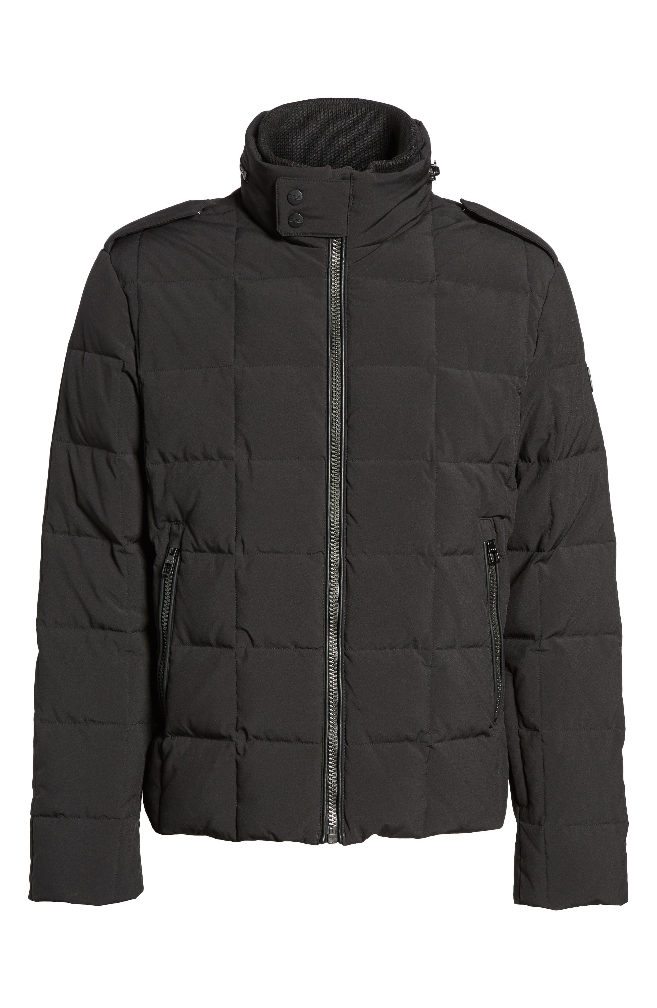 Uptown Down Puffer Jacket,                             Alternate thumbnail 5, color,                             001