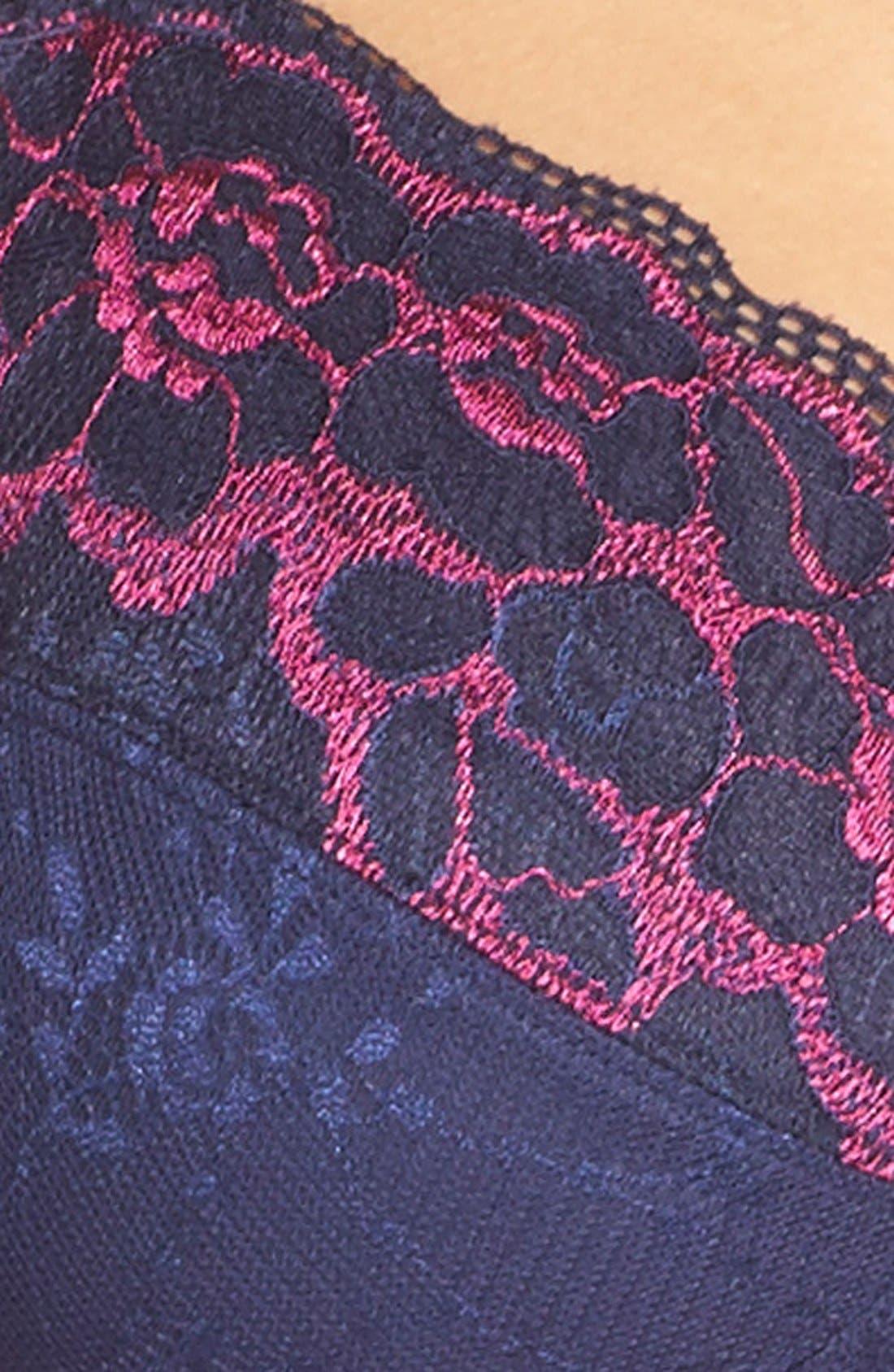 'Karla' Lace Soft Cup Bra,                             Alternate thumbnail 4, color,                             465