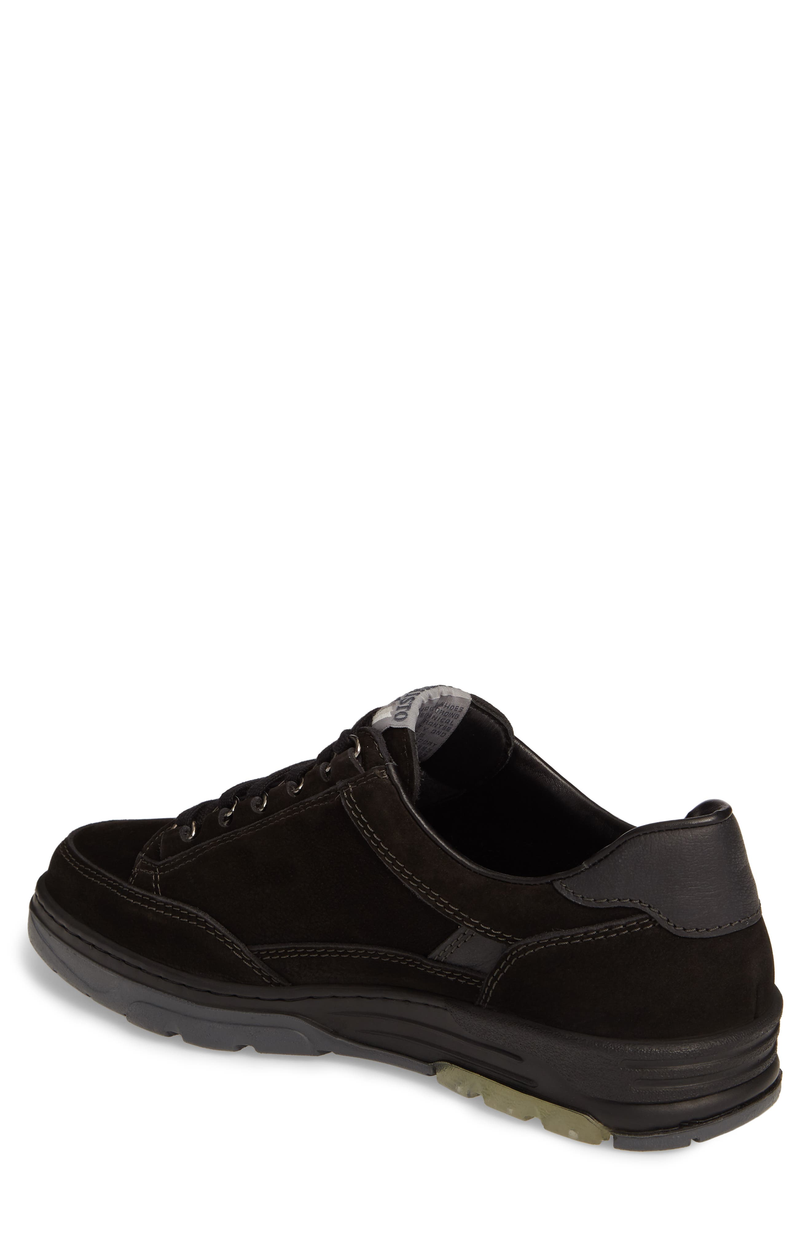 Mick Sneaker,                             Alternate thumbnail 2, color,                             BLACK SPORTBUCK