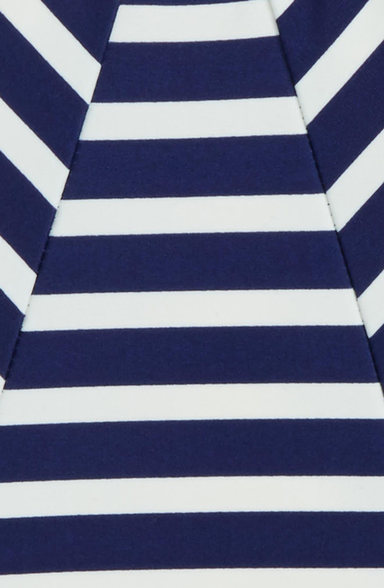 Stripe One-Piece Swimsuit,                             Alternate thumbnail 2, color,