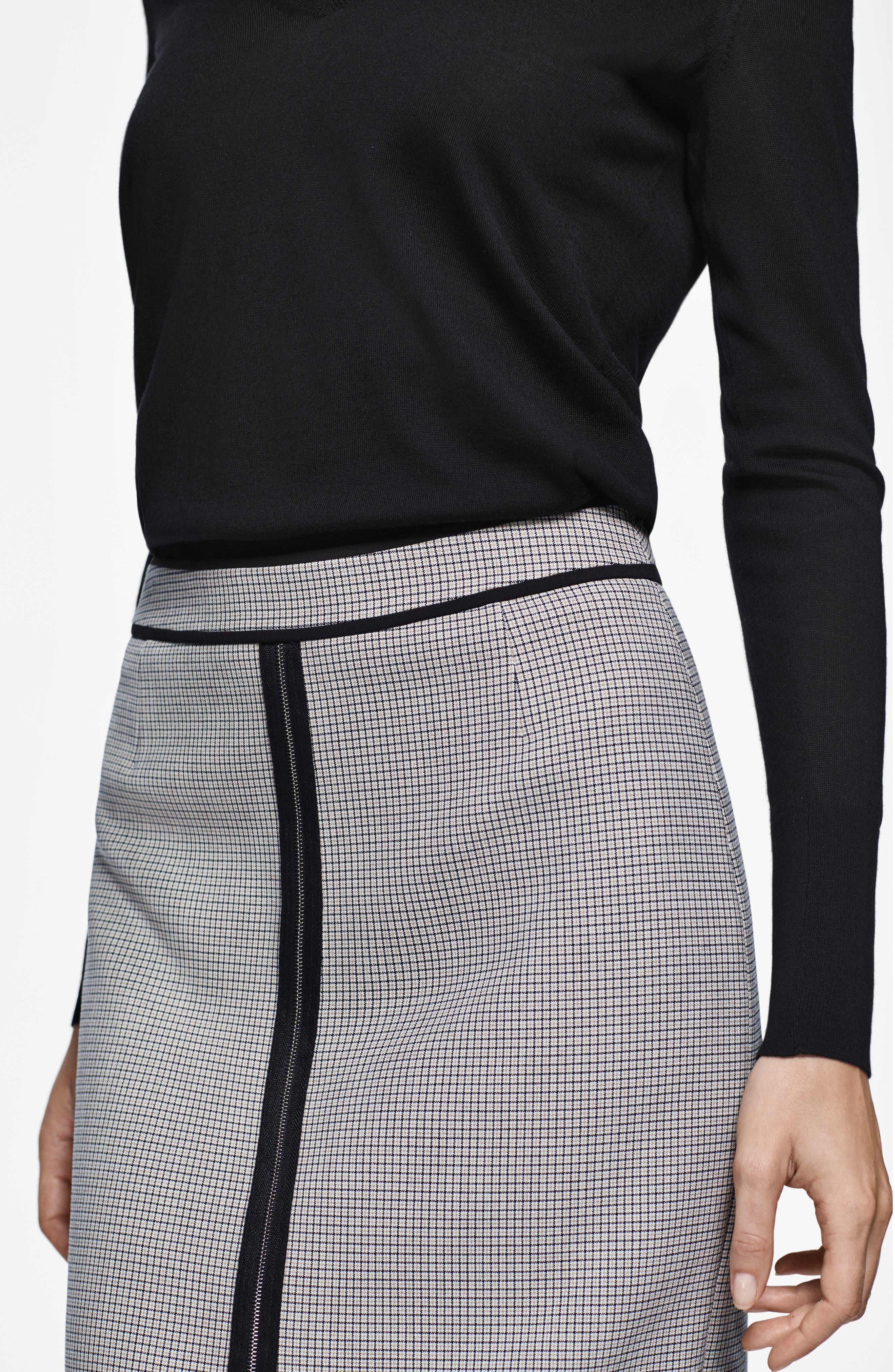 Voliviena Pencil Skirt,                             Alternate thumbnail 8, color,                             STONE FANTASTY