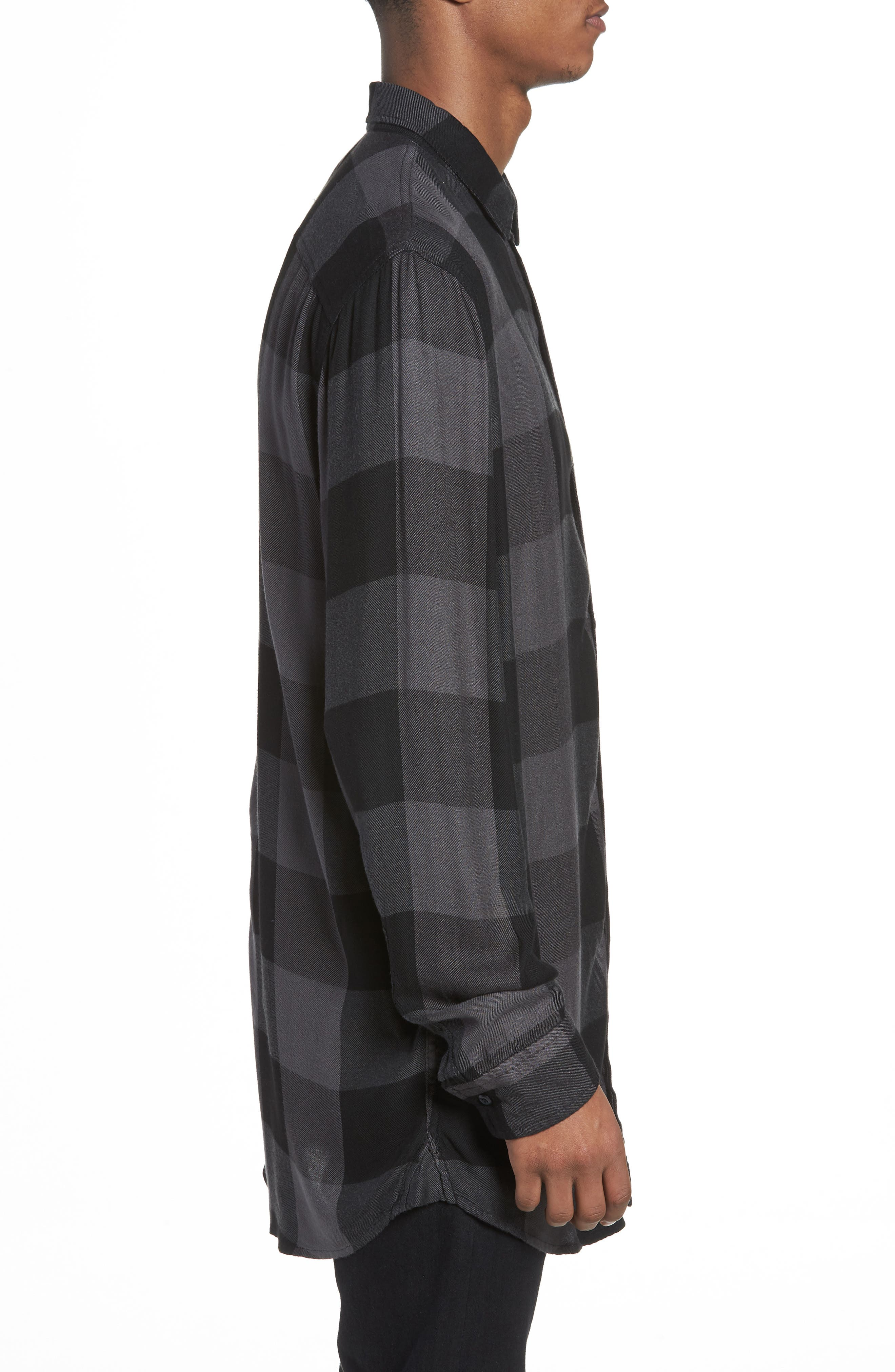 Yarn Dyed Plaid Shirt,                             Alternate thumbnail 5, color,