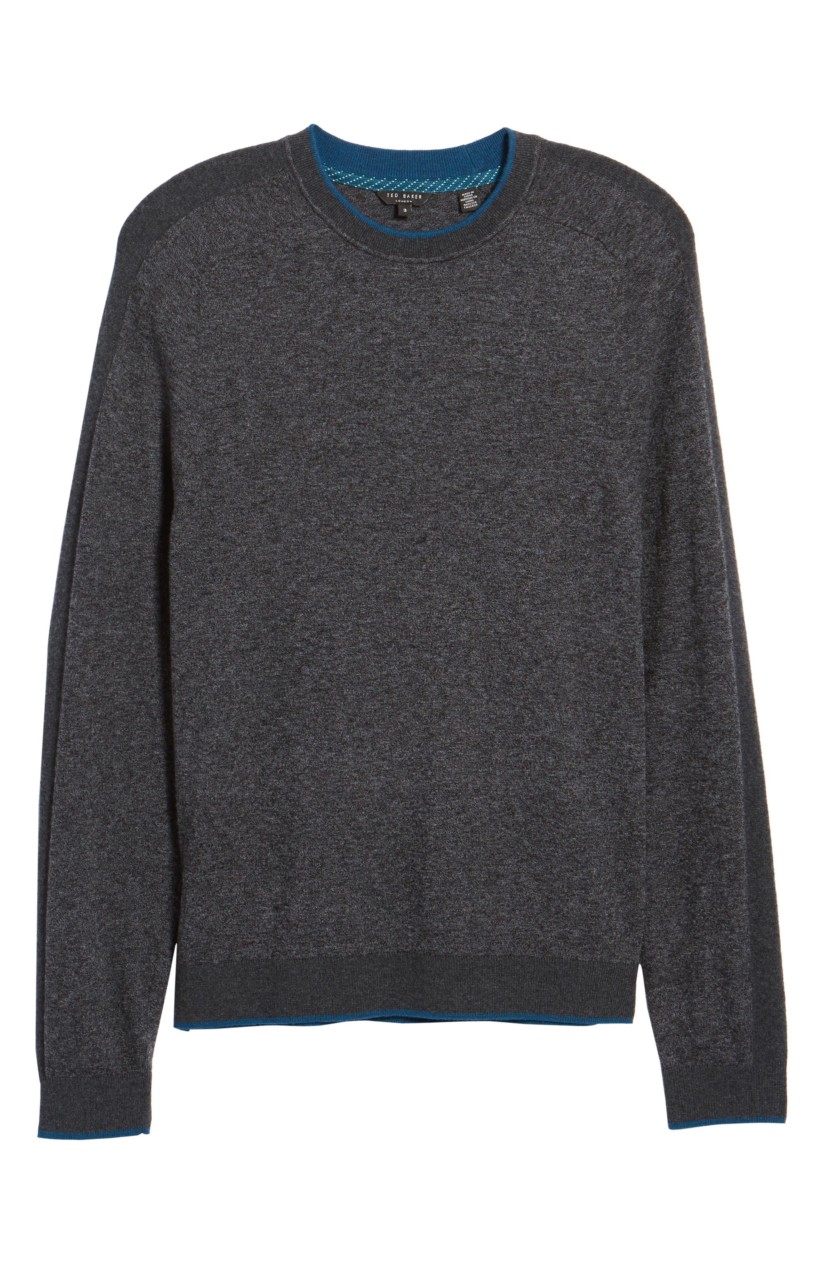 Norpol Crewneck Sweater,                             Alternate thumbnail 6, color,                             010