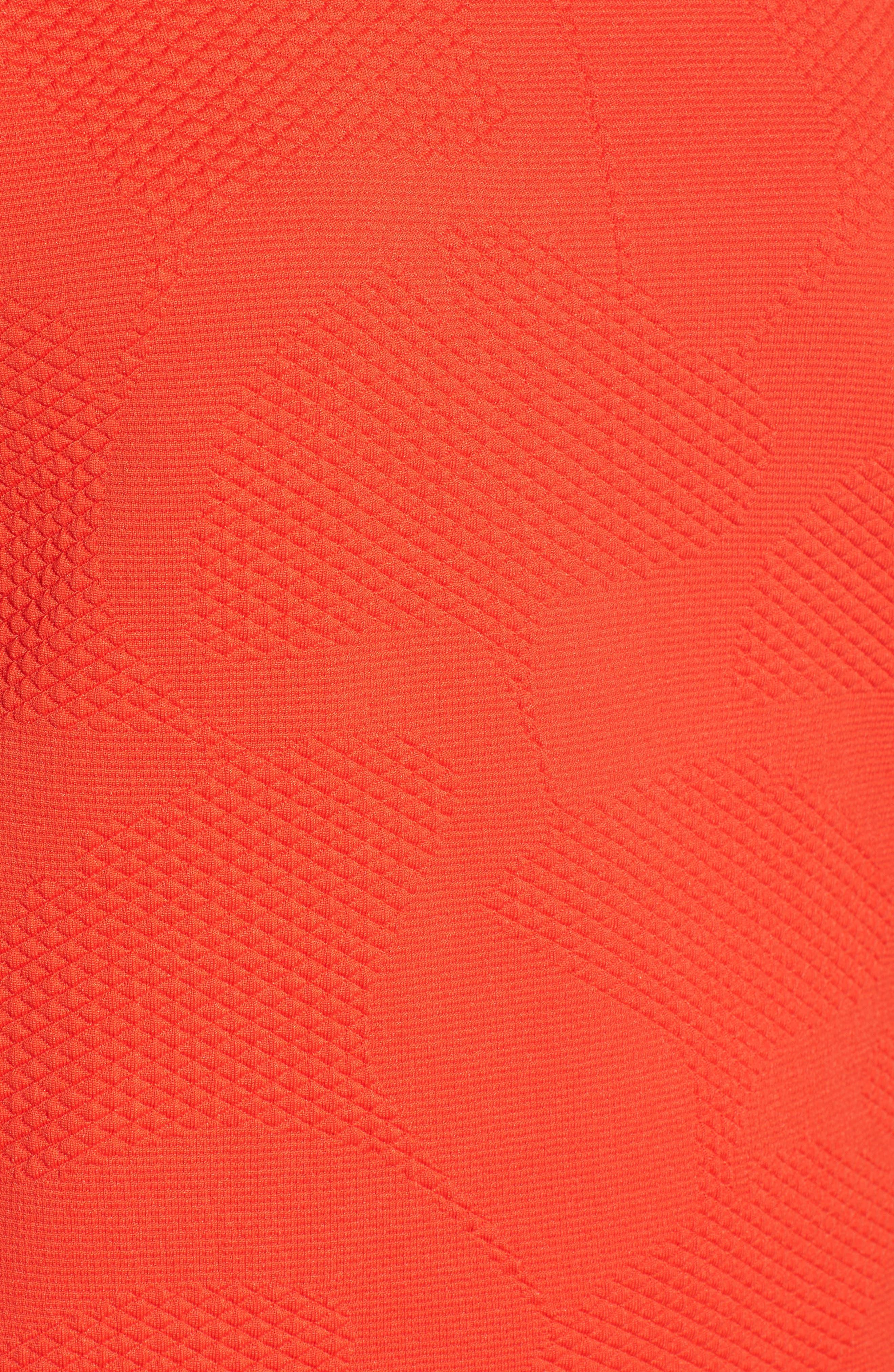 Jacquard Knit Top,                             Alternate thumbnail 5, color,