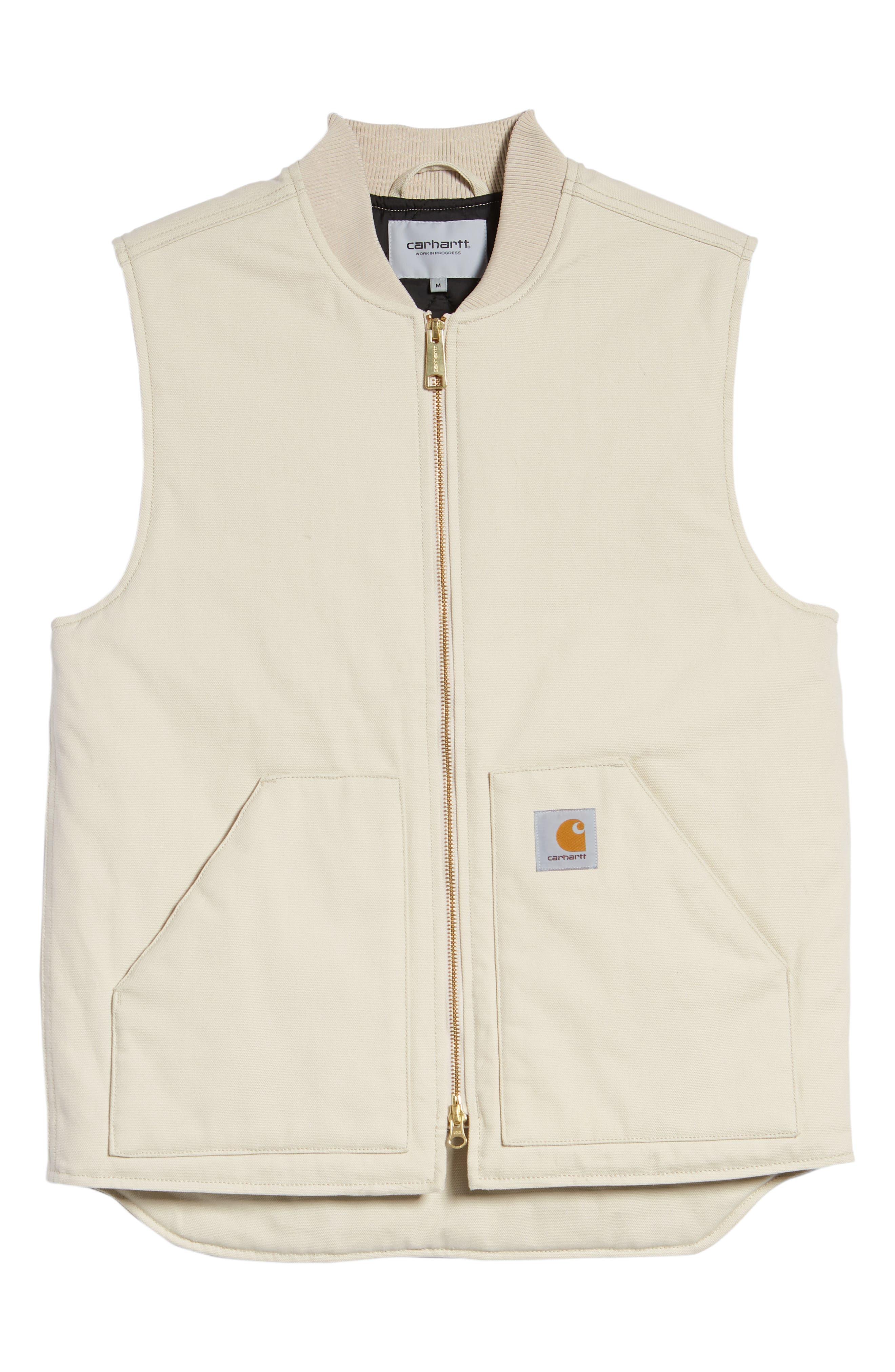 Canvas Vest,                             Alternate thumbnail 6, color,                             250