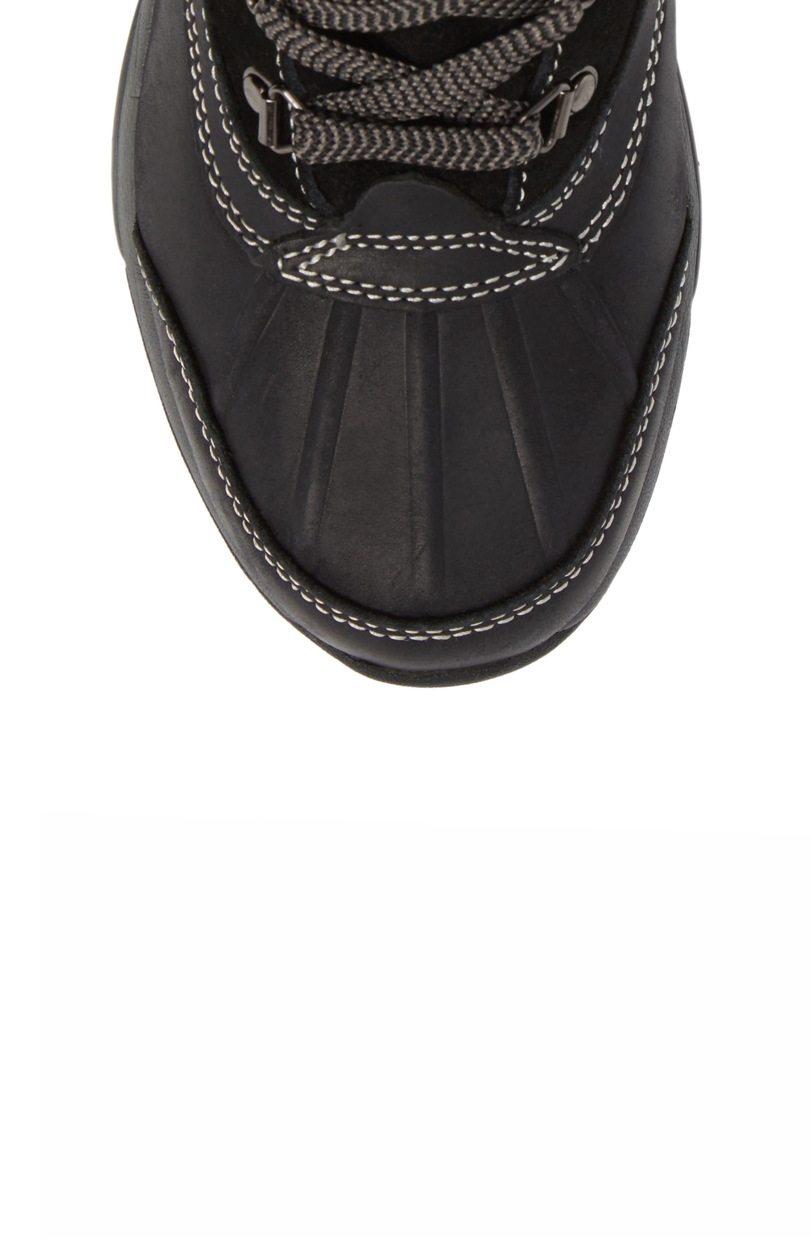 'Renee' Waterproof Insulated Winter Boot,                             Alternate thumbnail 5, color,                             001