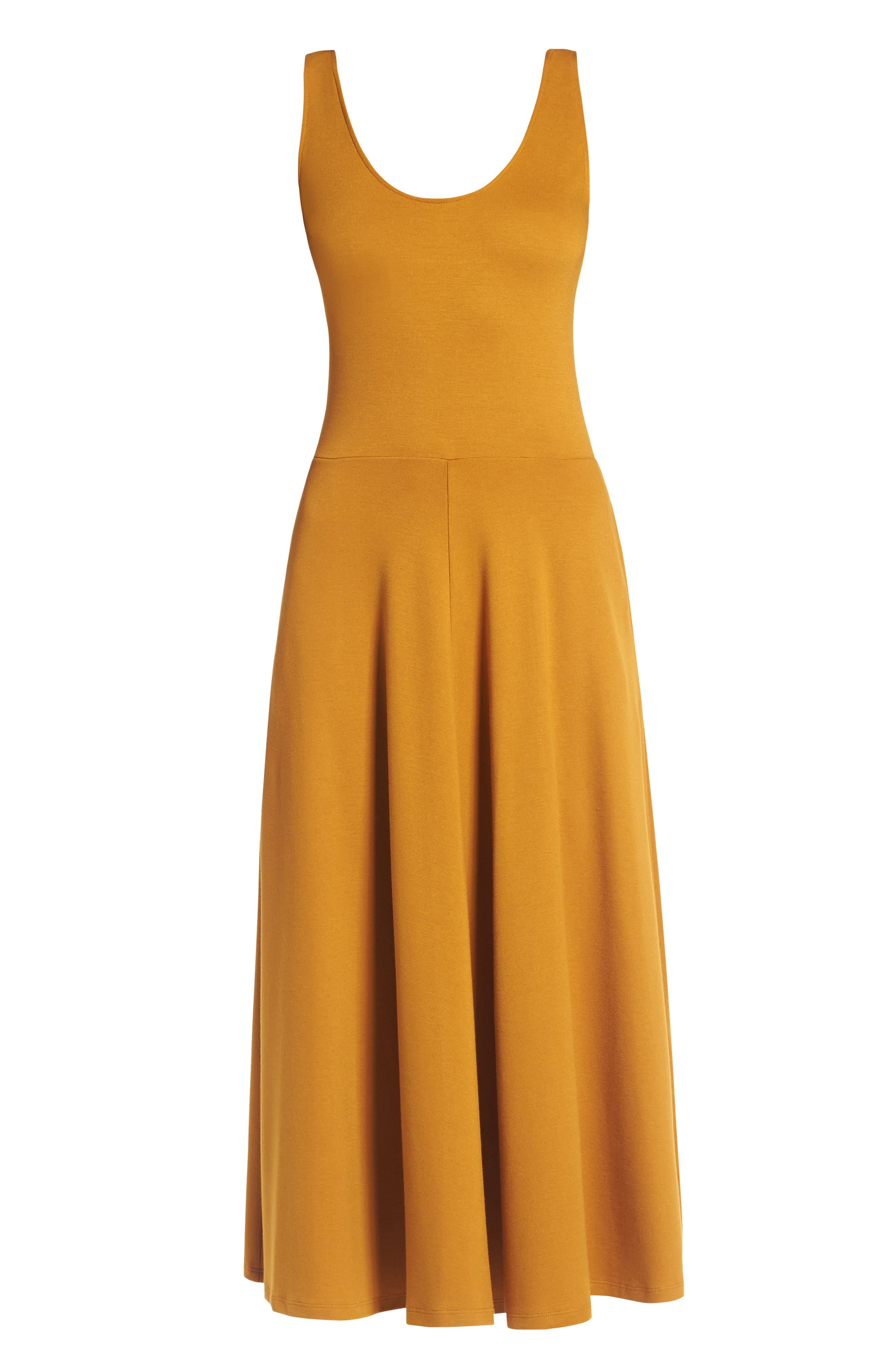 Stretch Knit Midi Dress,                             Alternate thumbnail 60, color,
