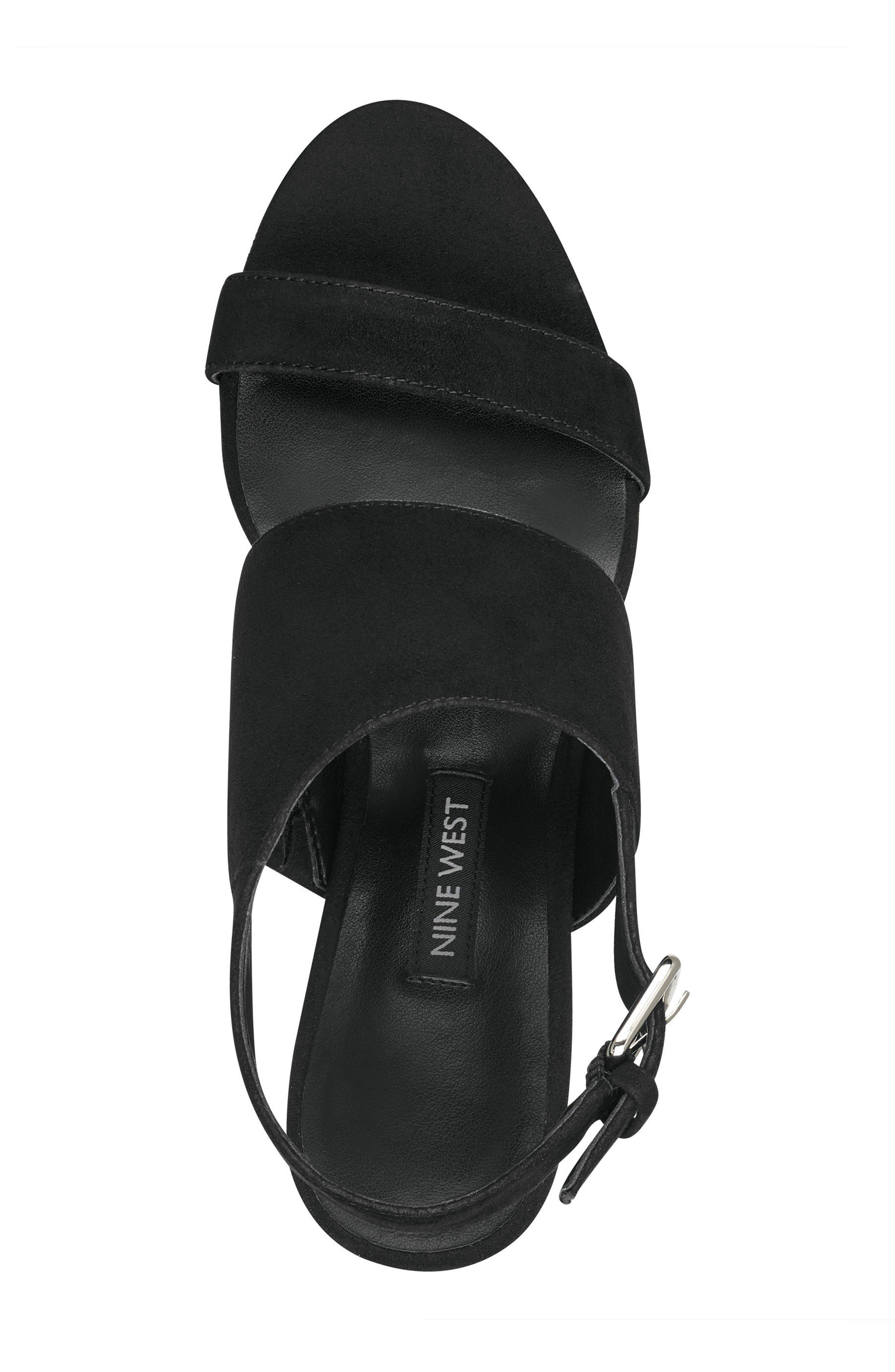 Forli Asymmetrical Sandal,                             Alternate thumbnail 5, color,                             001
