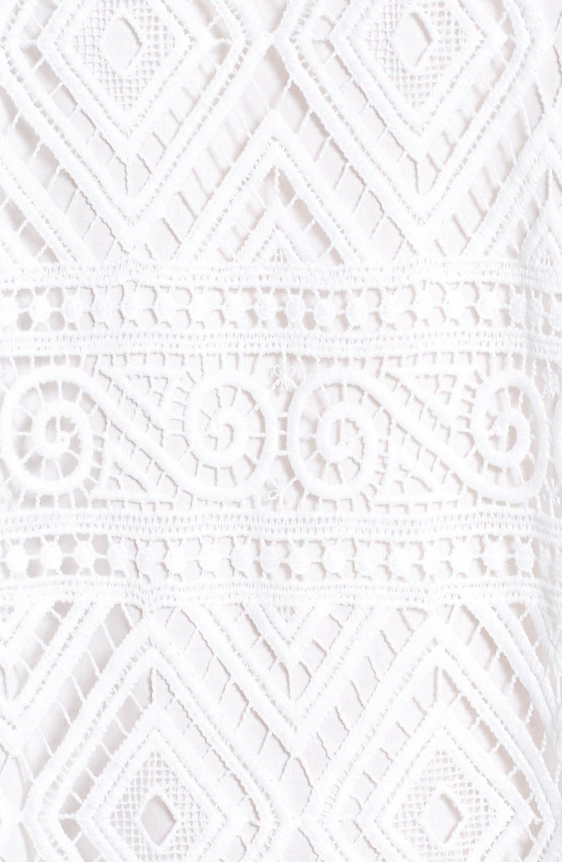 'Lyric' Lace Shift Dress,                             Alternate thumbnail 3, color,                             105